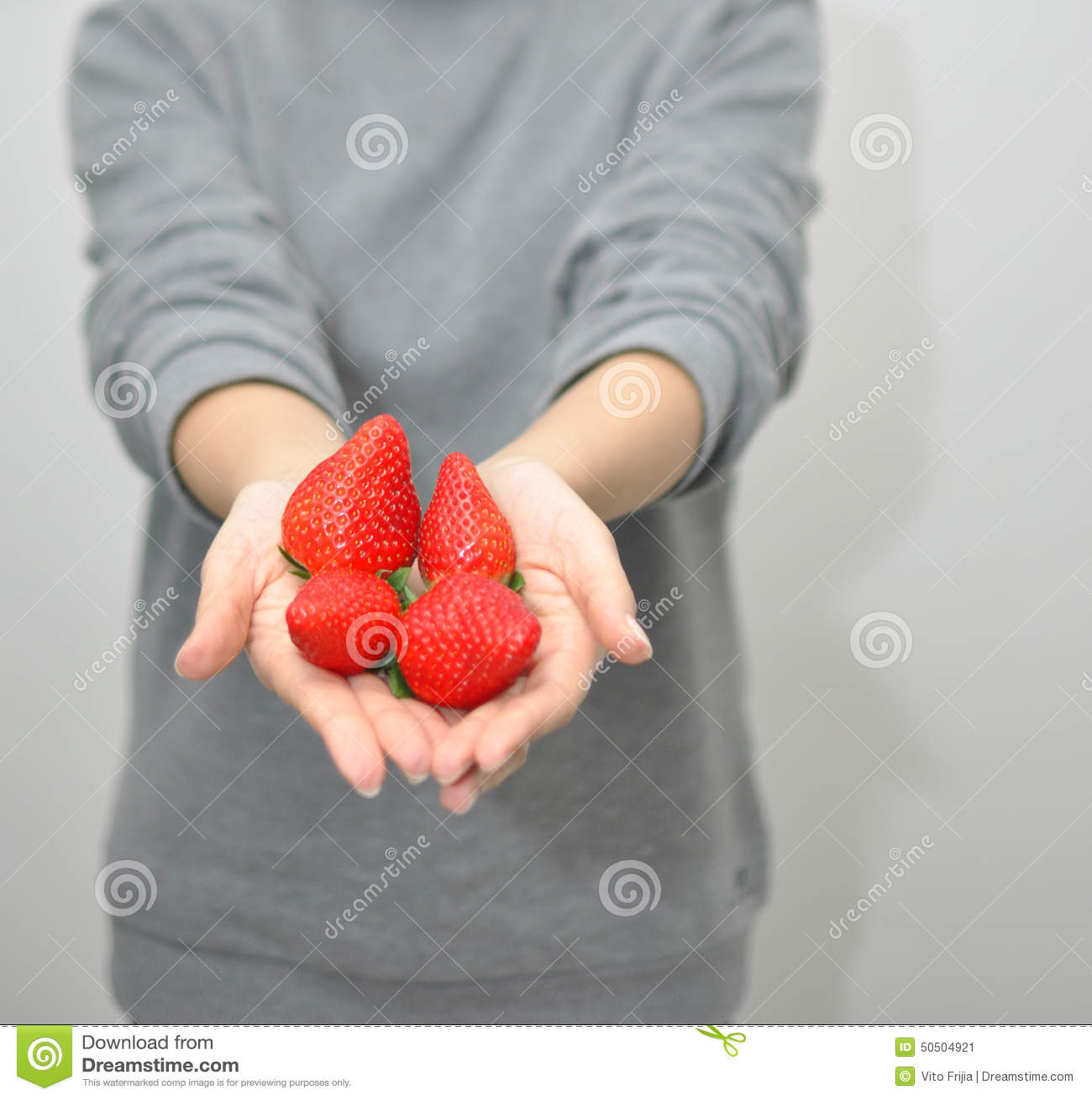 Estenda morangos
