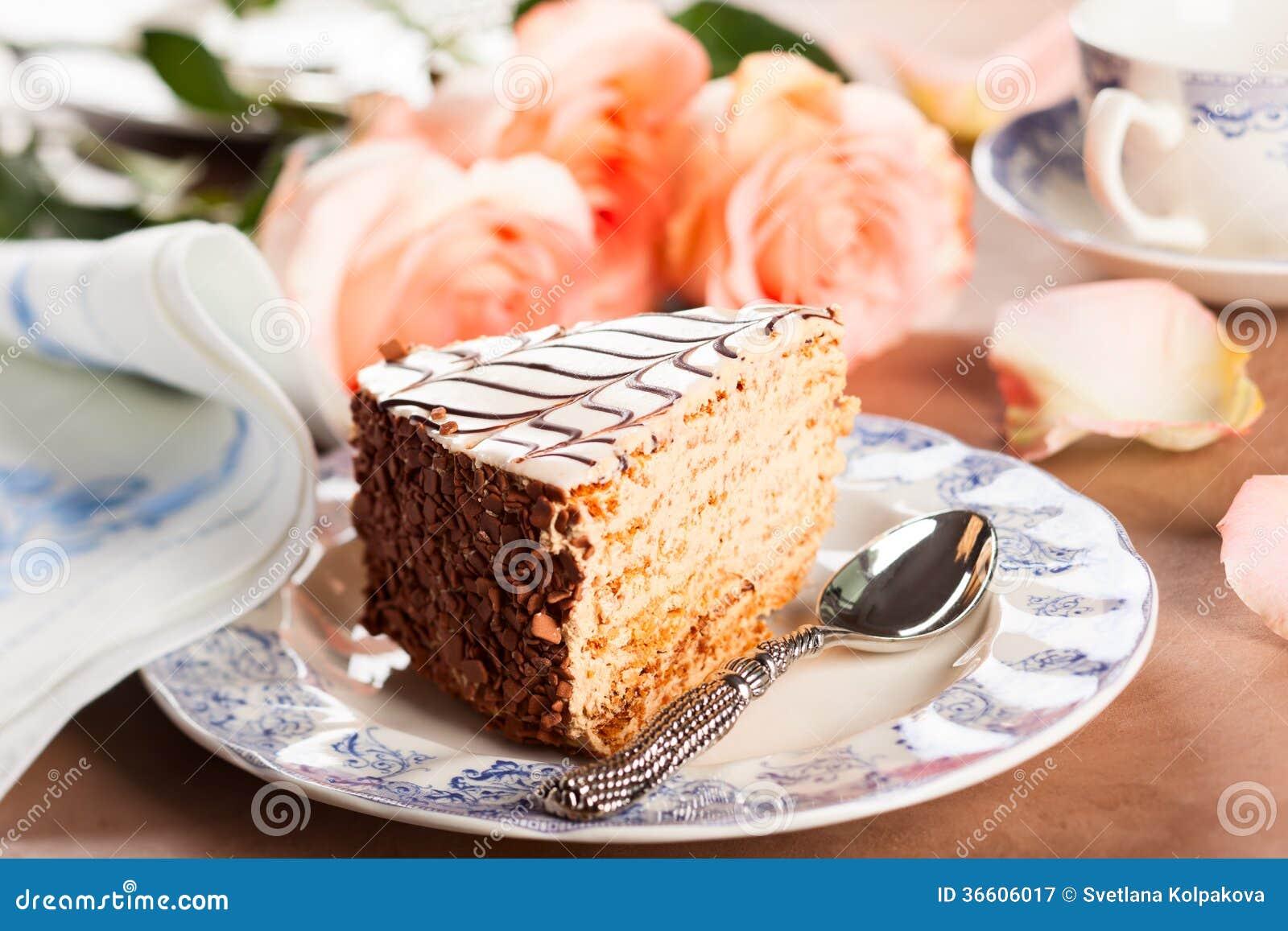Chocolate Almond Meringue Torte