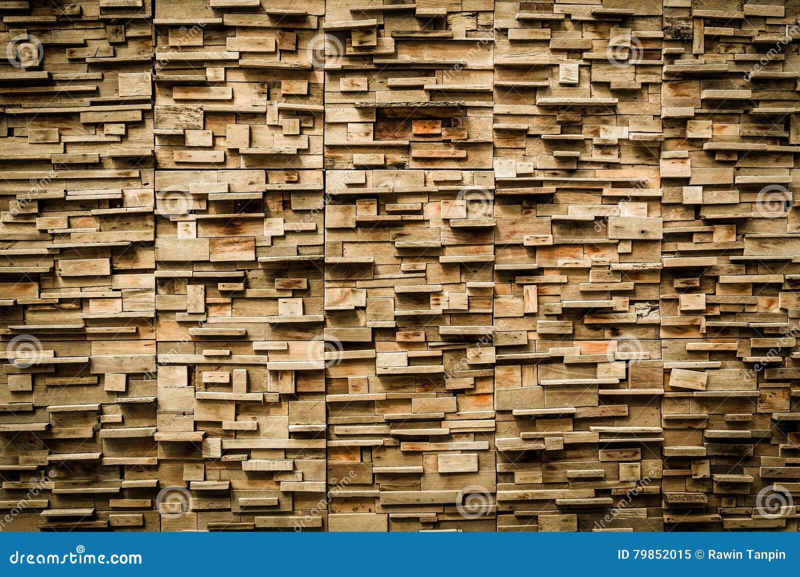 Esterno di legno esposto della parete rappezzatura di - Parete di legno ...