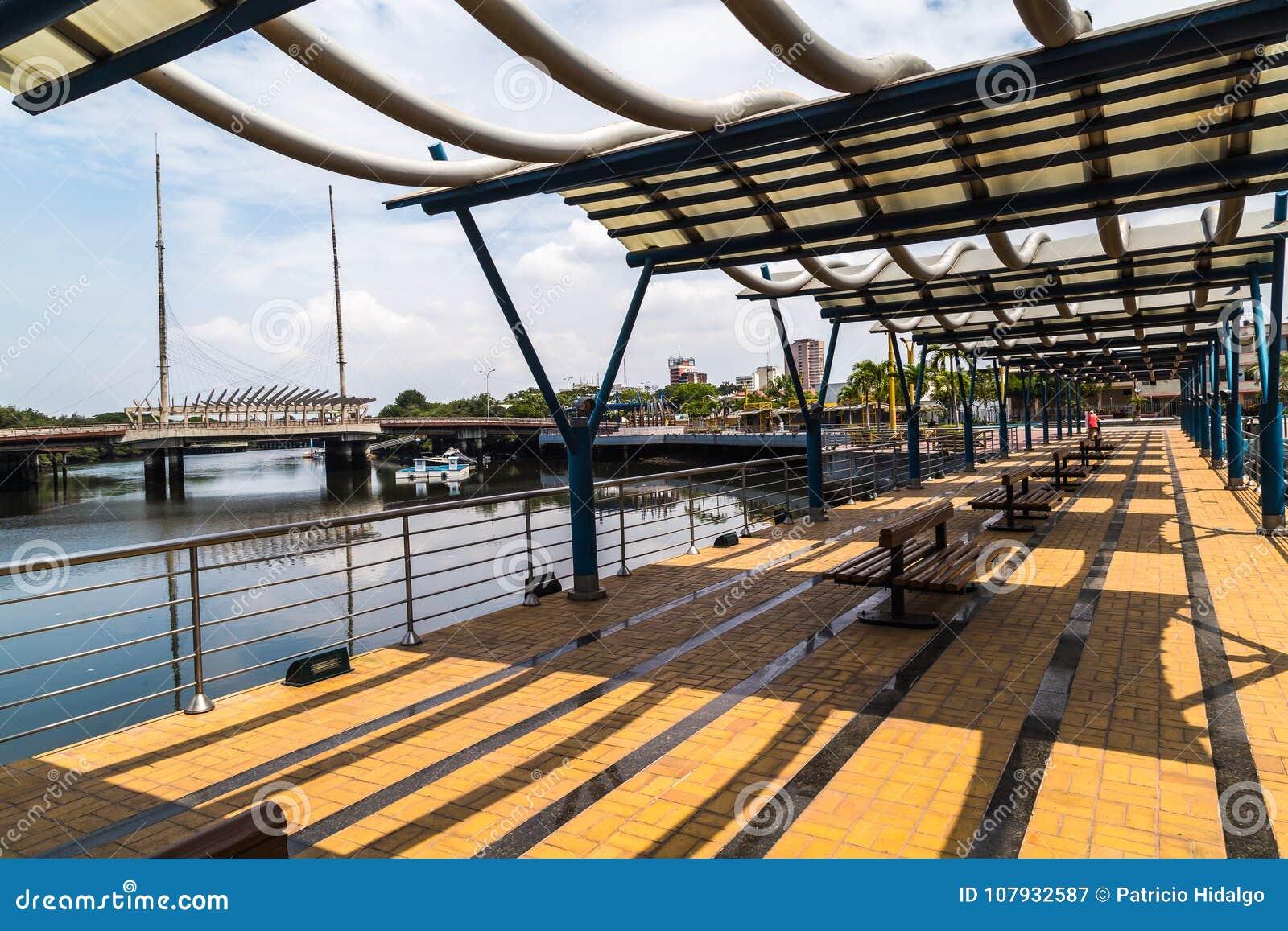 Estero Salado en la ciudad de Guayaquil