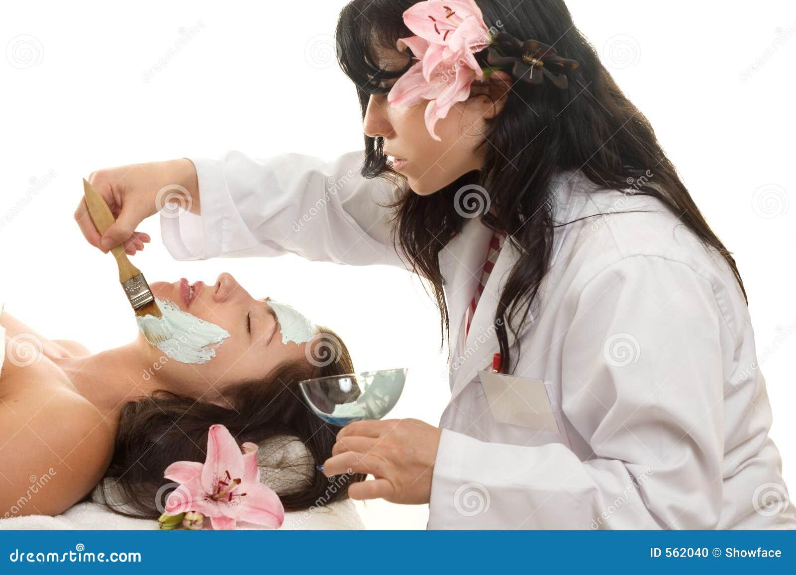 esthetician stock photo  image of moisturize  facial