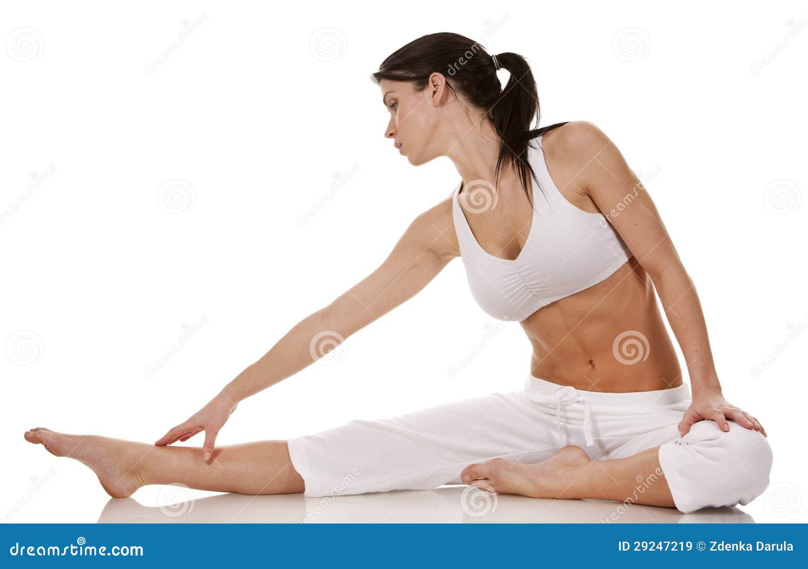 Download Esticão da mulher imagem de stock. Imagem de energia - 29247219