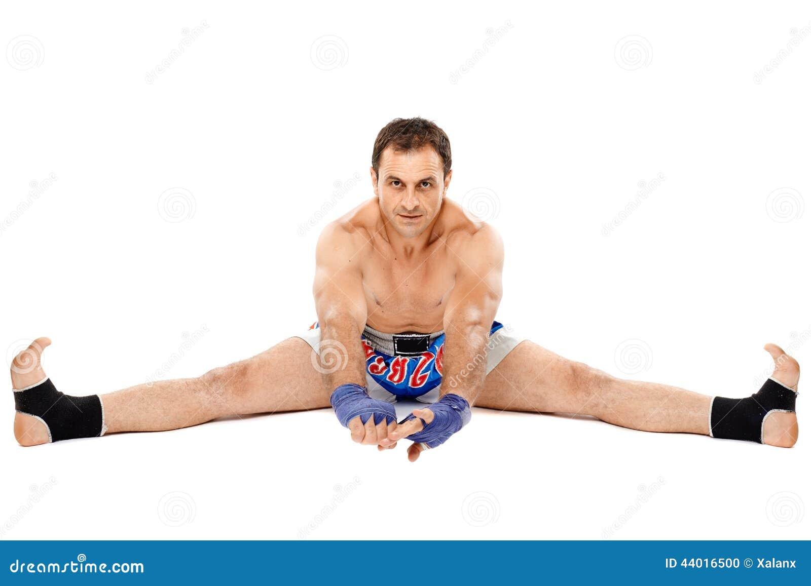 Esticão do lutador de Kickbox
