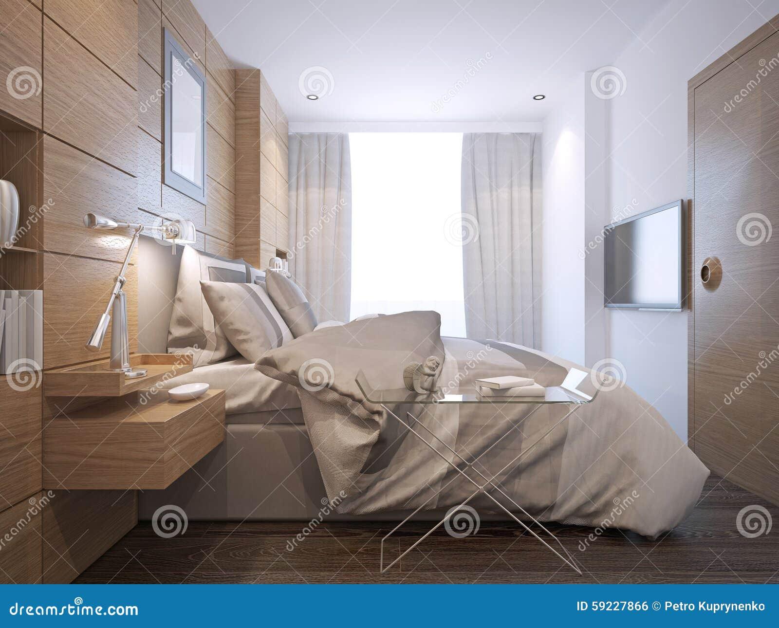 Download Estilo Brillante Del Desván Del Dormitorio Stock de ilustración - Ilustración de cómodo, elegante: 59227866
