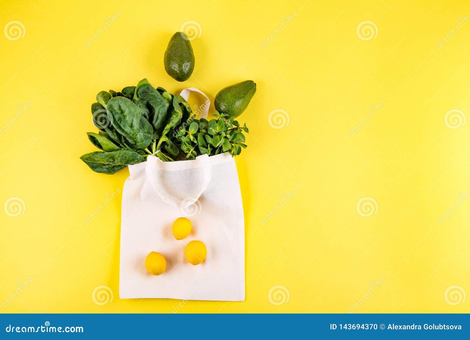 Estilo colocado liso das frutas e legumes