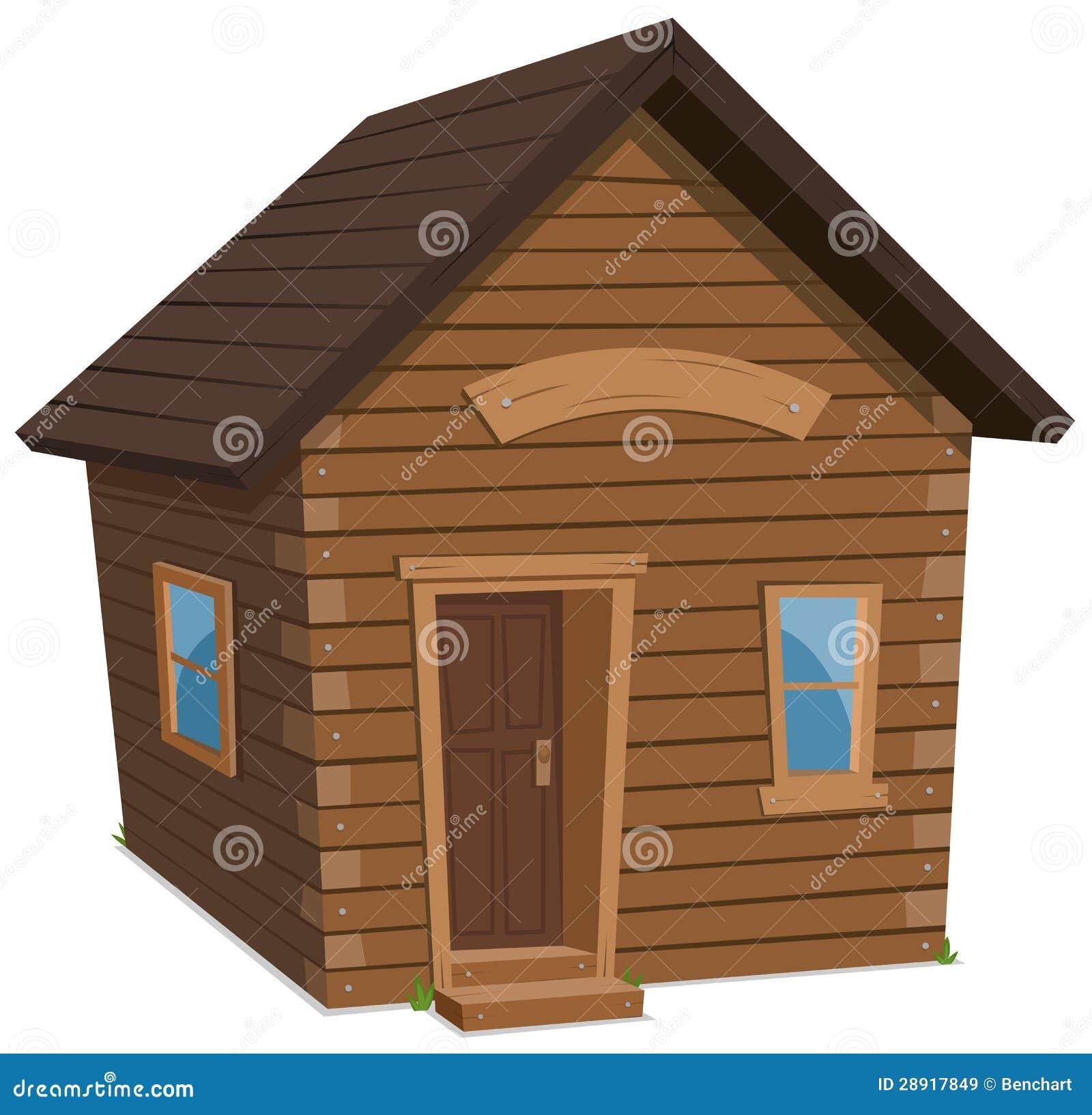 Estilo de vida da casa de madeira imagens de stock royalty for Estilos de apartamentos