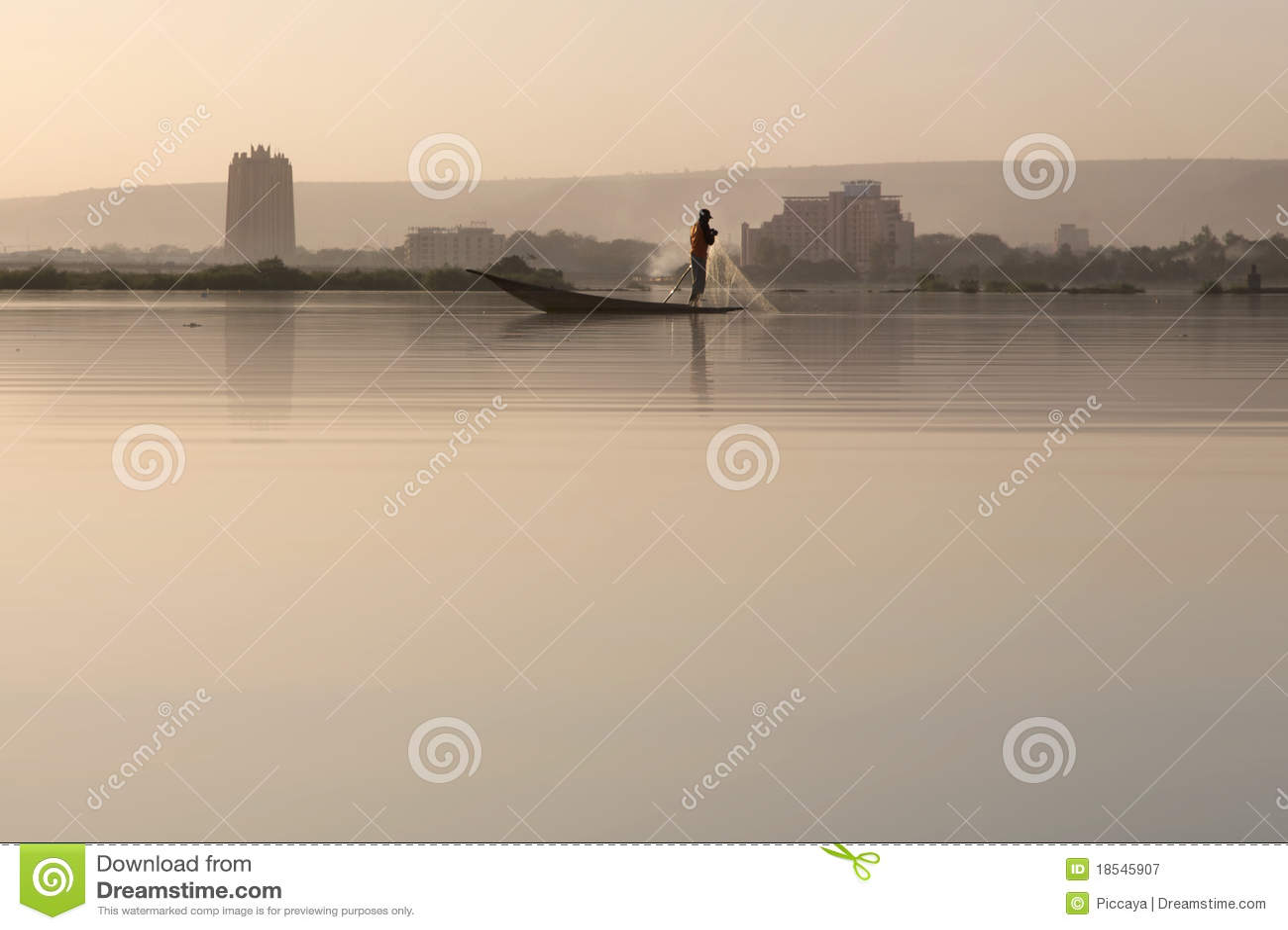 Estilo de vida no delta de Niger