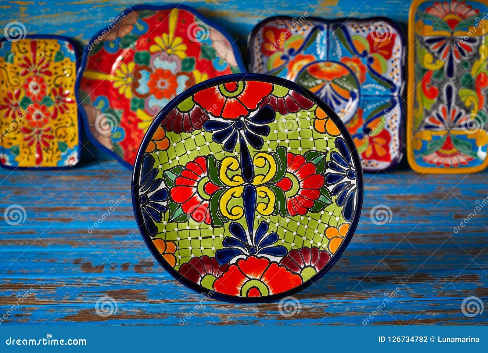 Estilo mexicano de Talavera de la cerámica de México