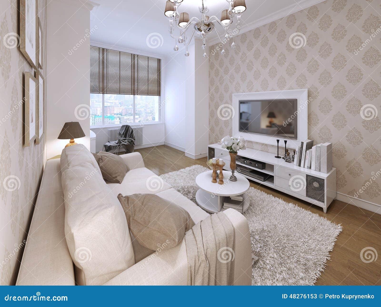Estilo moderno del cuarto de invitados stock de - Habitacion de invitados ...