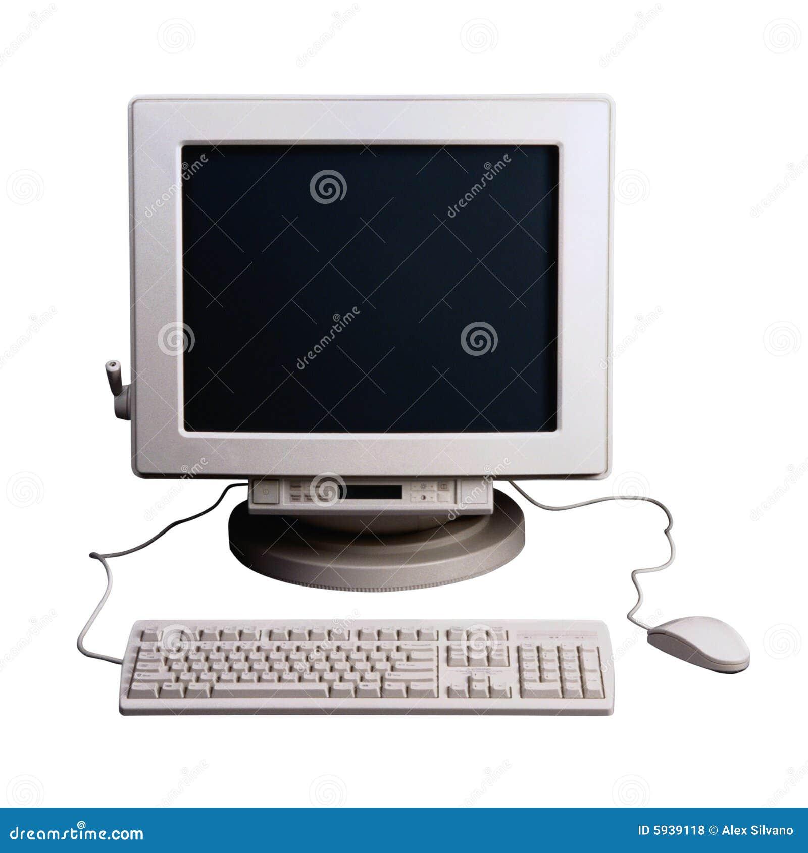 Estilo velho do computador
