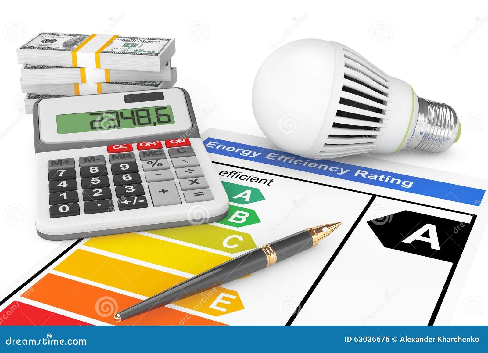 Led L'ampoule Estimation Rendement Énergétique De Avec kw0PnON8XZ