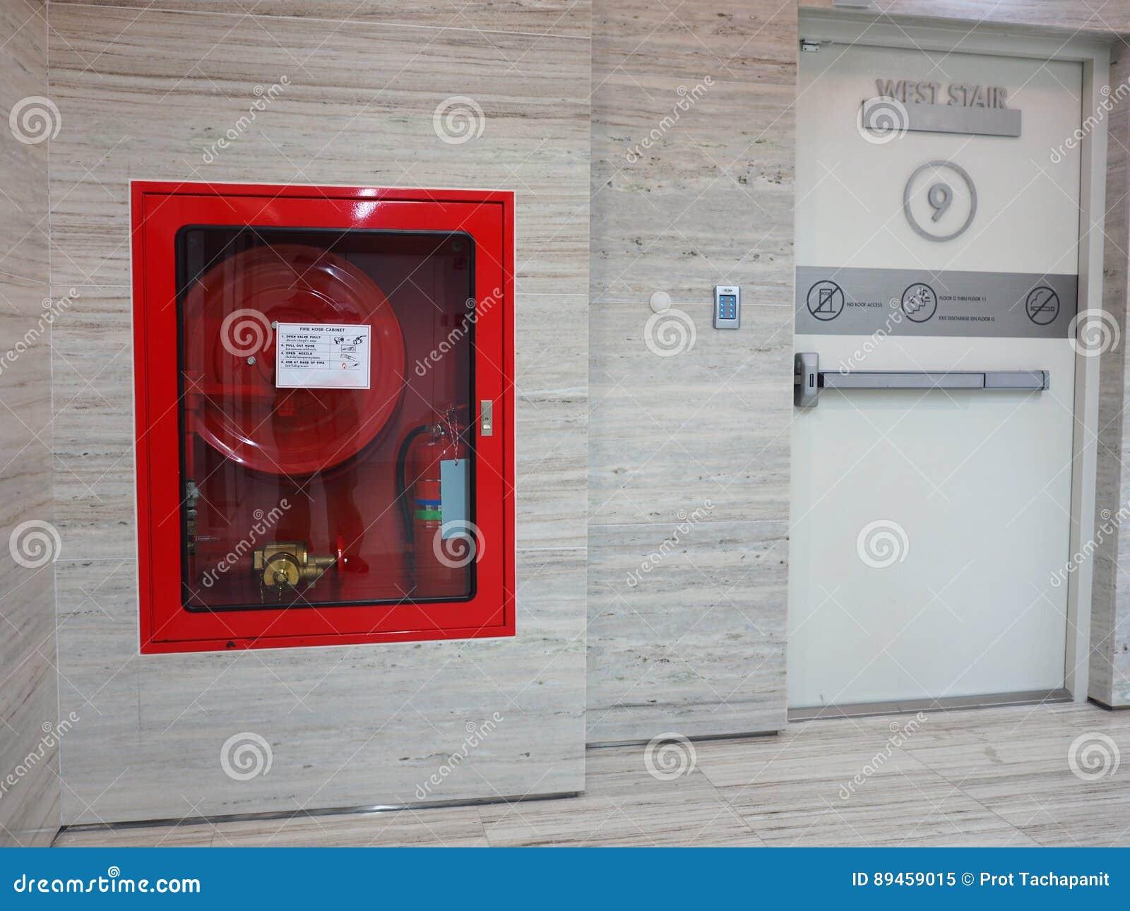 Estintore con i vari tipi di fuochi immagine stock - Tipi di porta ...