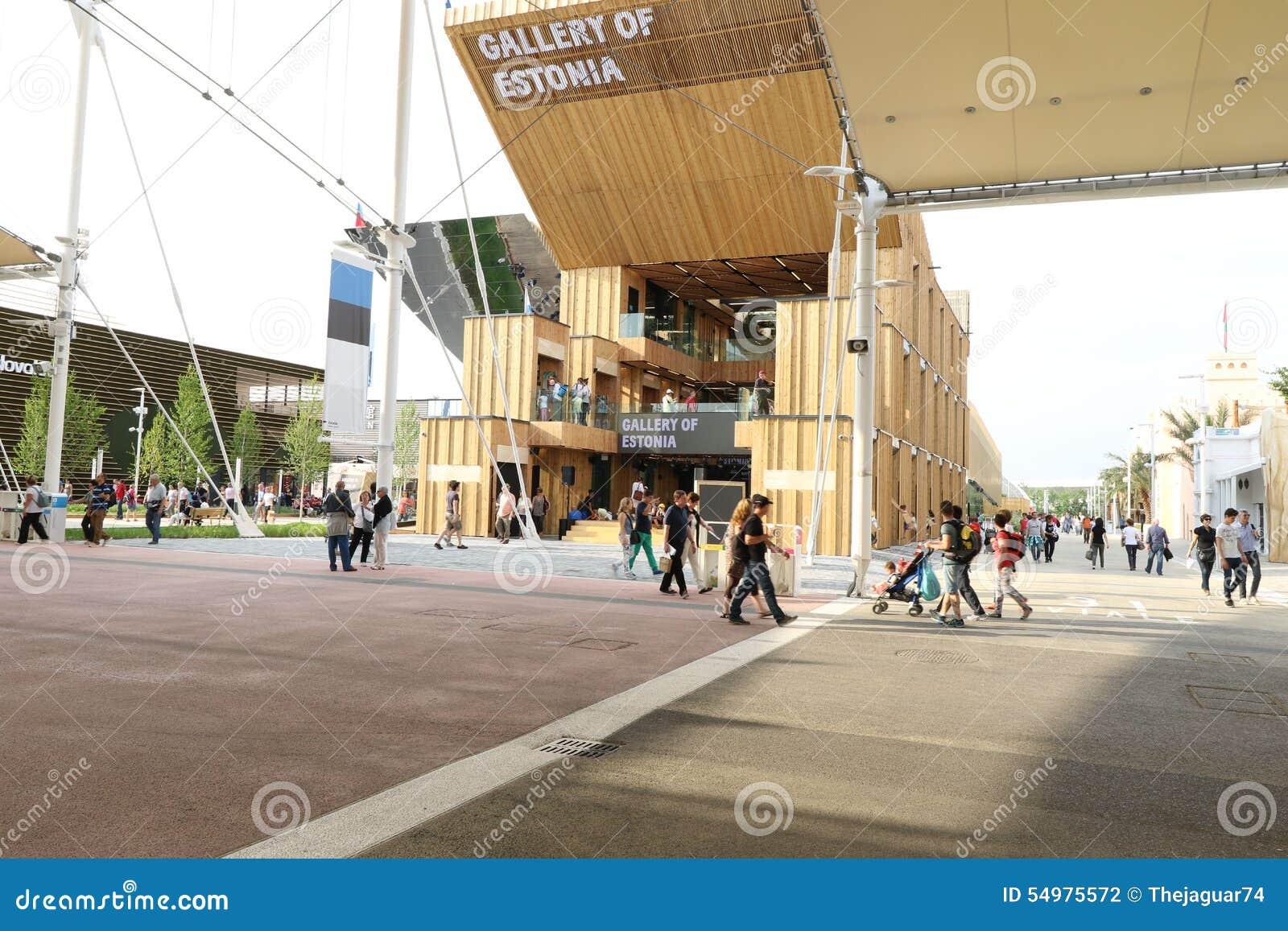 Estland paviljong Milan, milano expo 2015