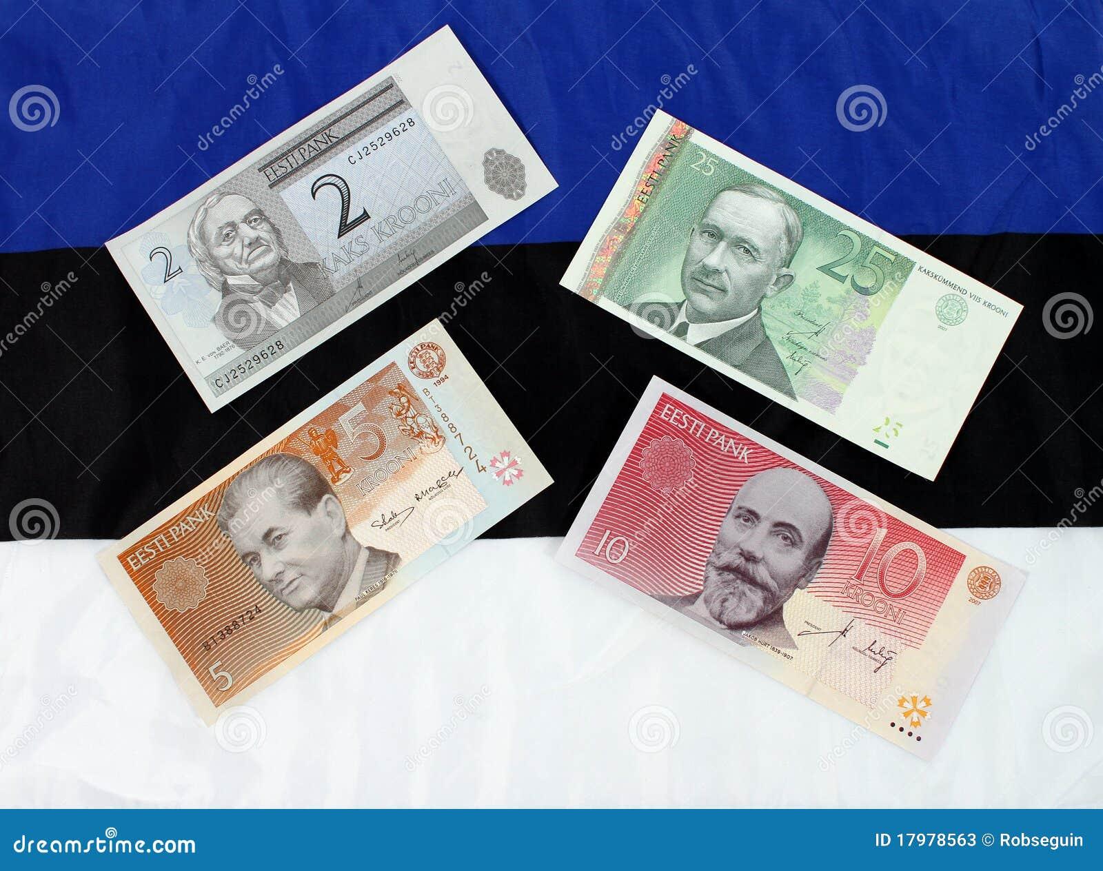 Estlands Geld