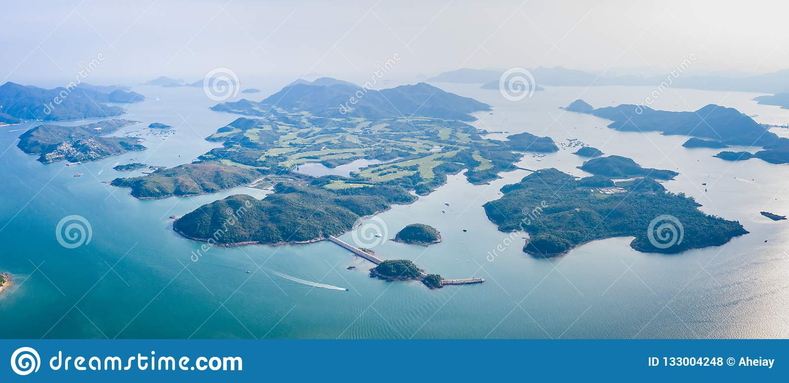 Esto está sobre la isla en Sai Kung