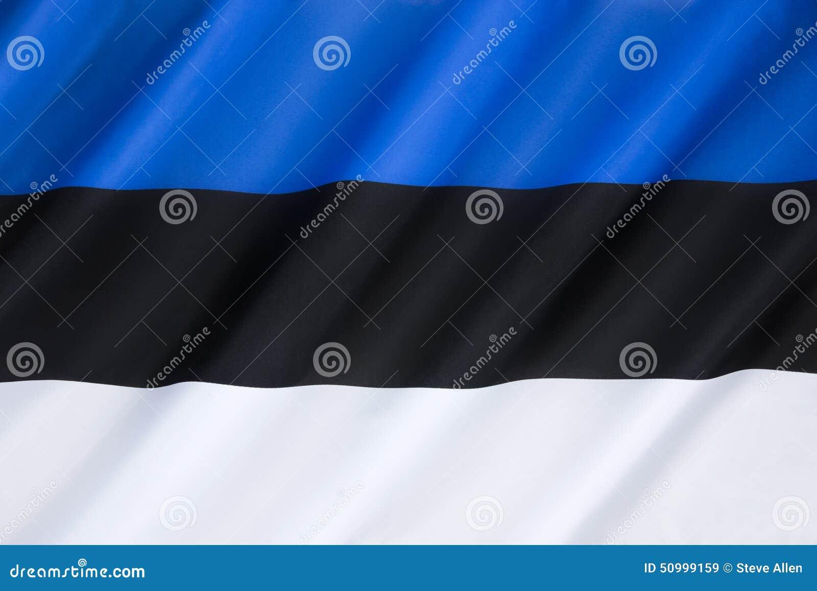 Estonia flagga