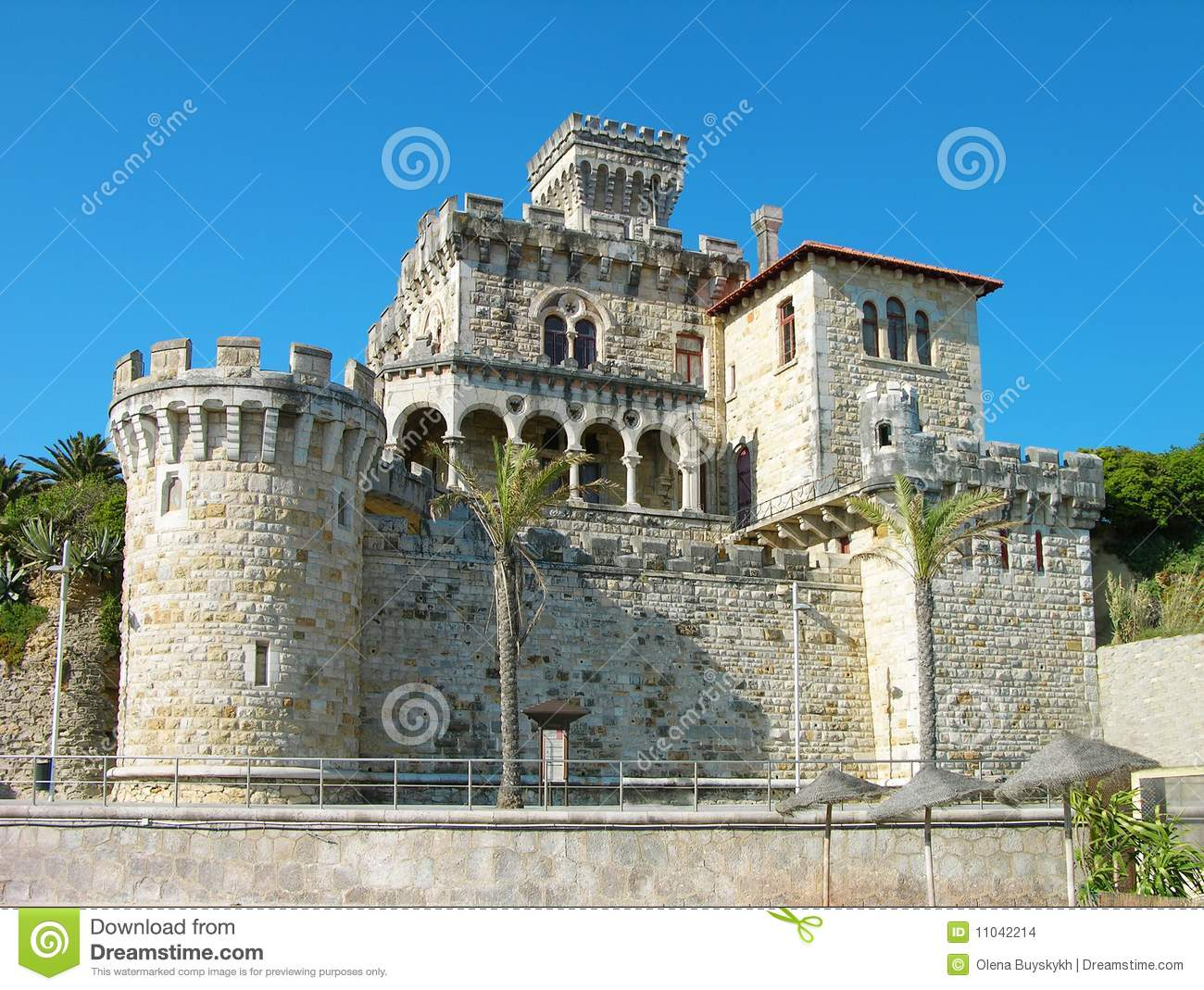 Estoril Portugal  City pictures : Estoril Castle, Portugal Stock Images Image: 11042214