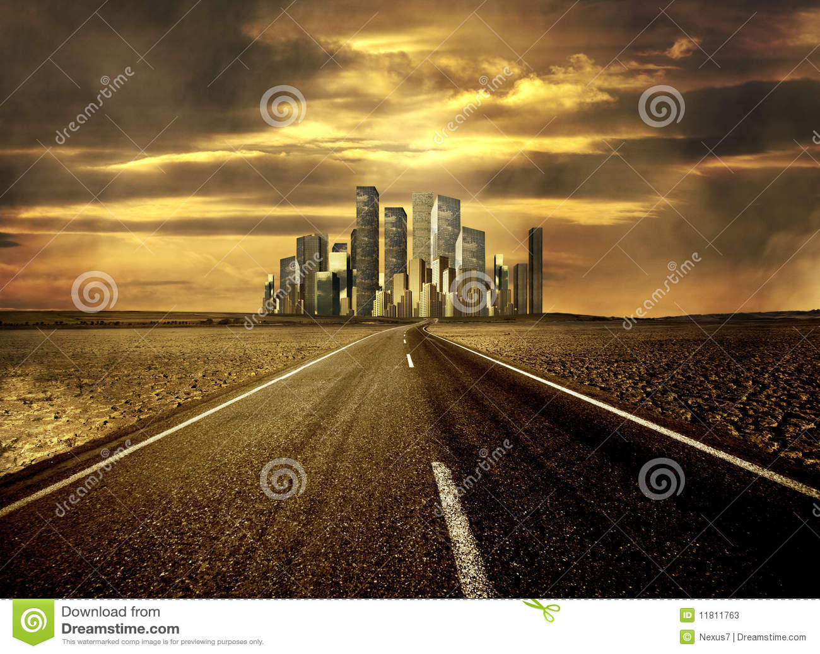 Estrada à cidade