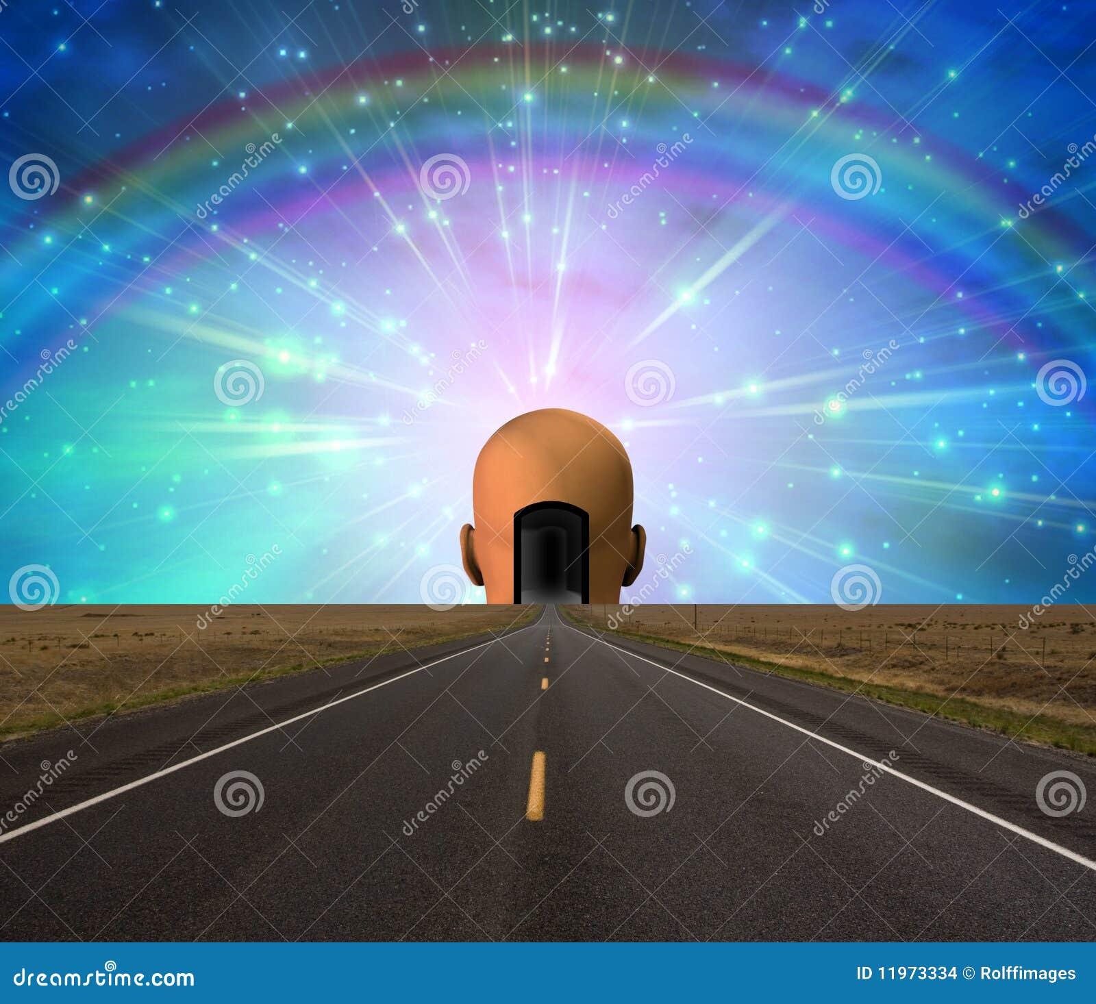 Estrada à iluminação