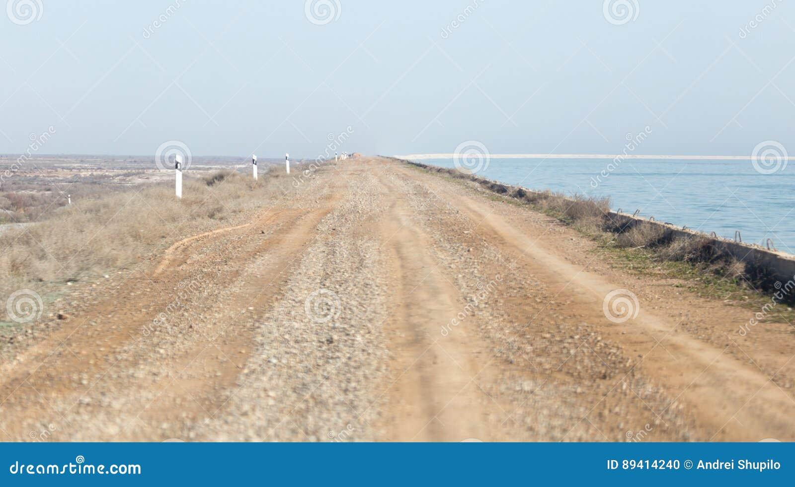 A estrada à represa