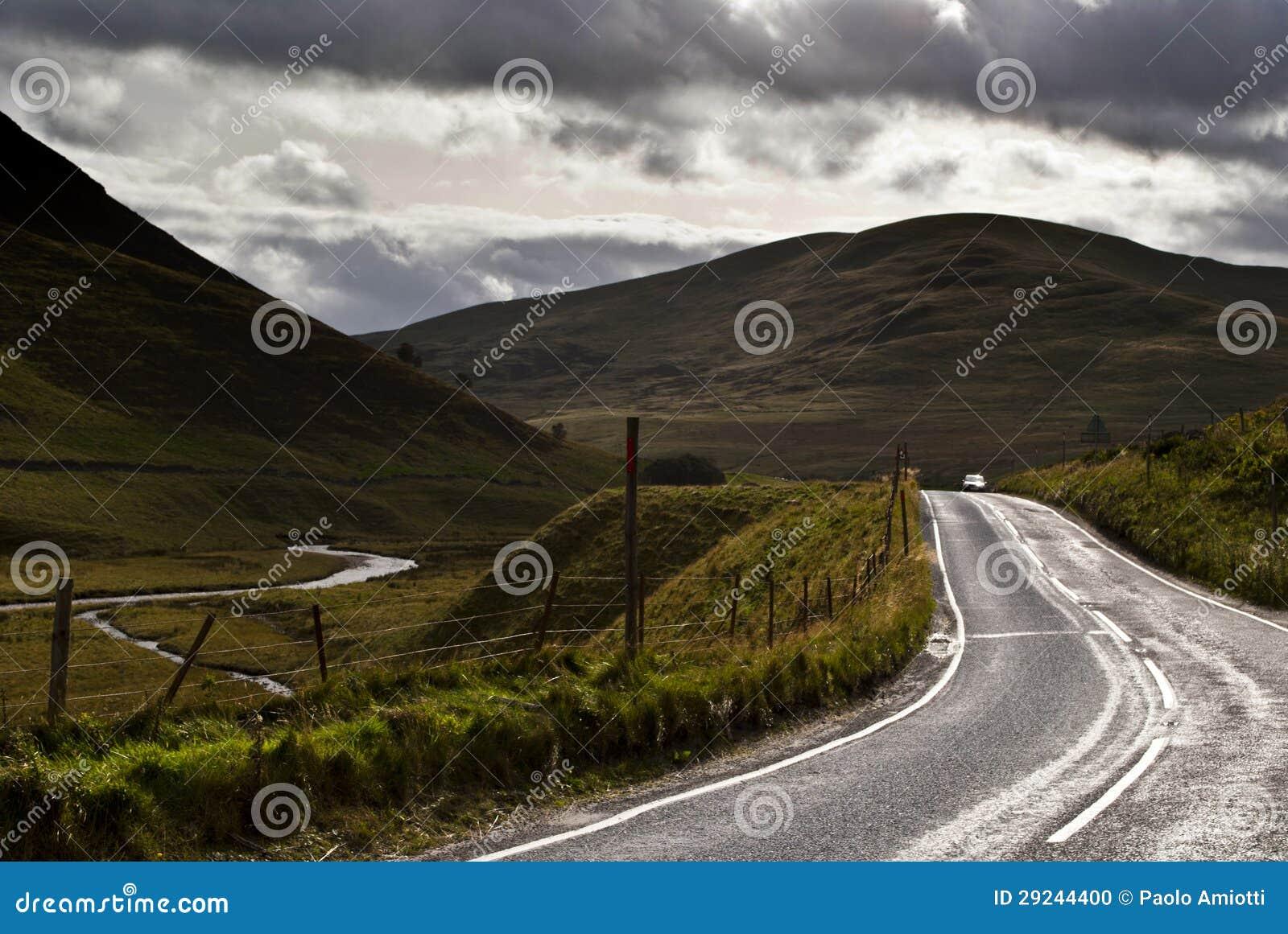 Download Estrada foto de stock. Imagem de montagem, tempestade - 29244400