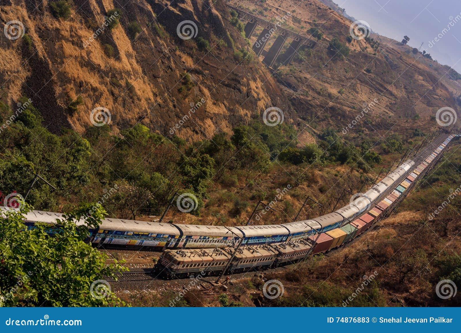 Estrada de ferro indiana