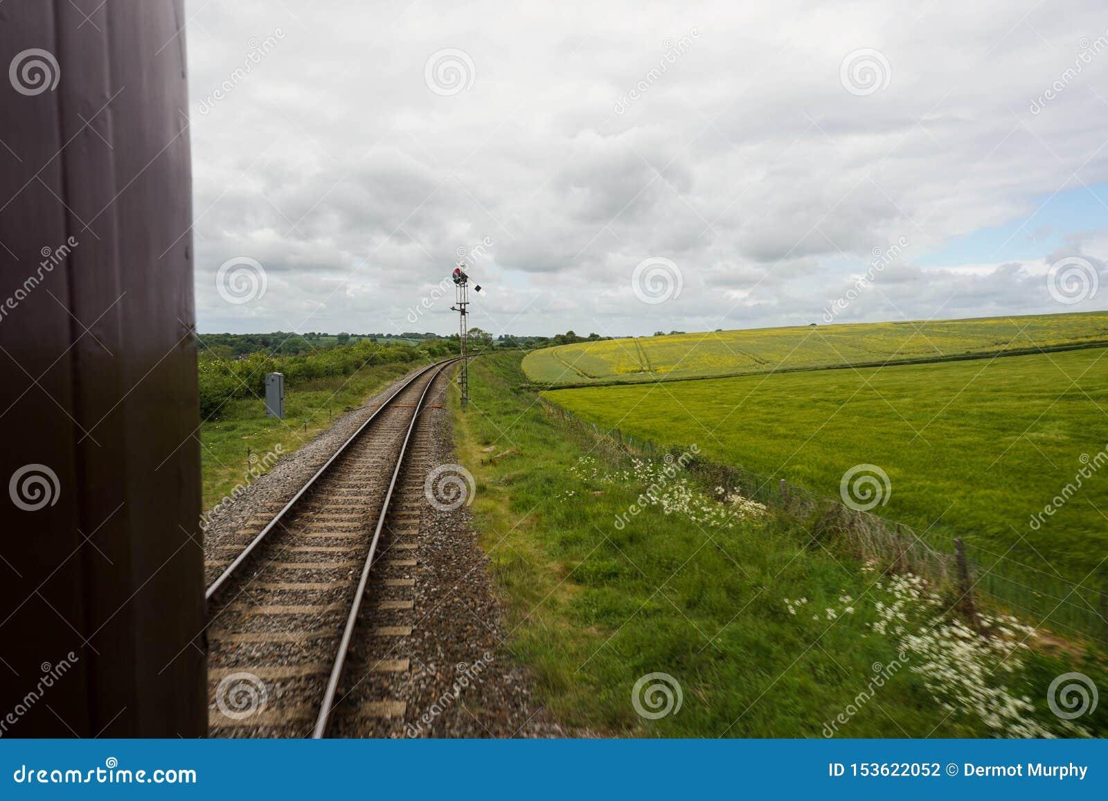 Estrada de ferro meados de do vapor de Hants