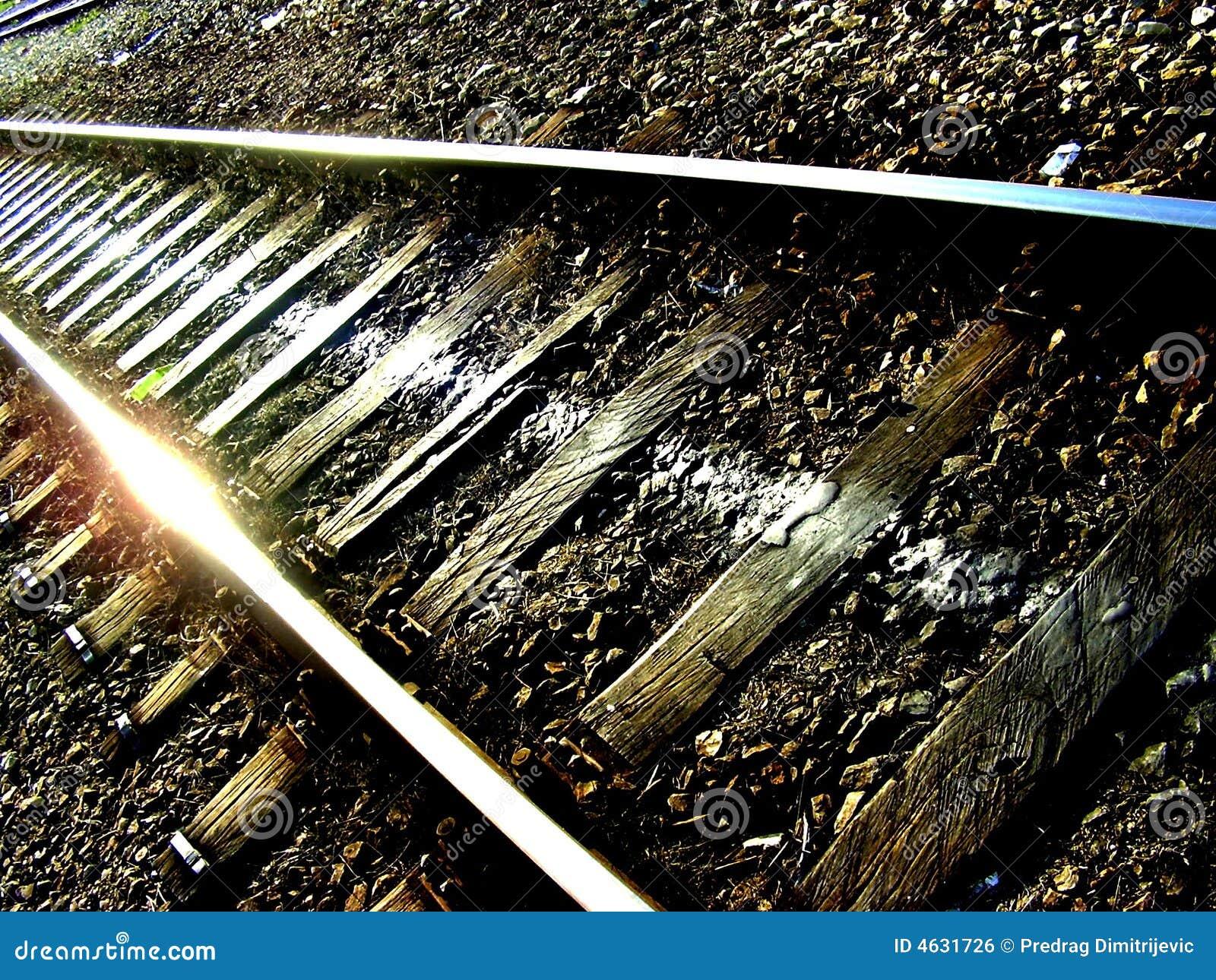 Estrada de ferro-trilha