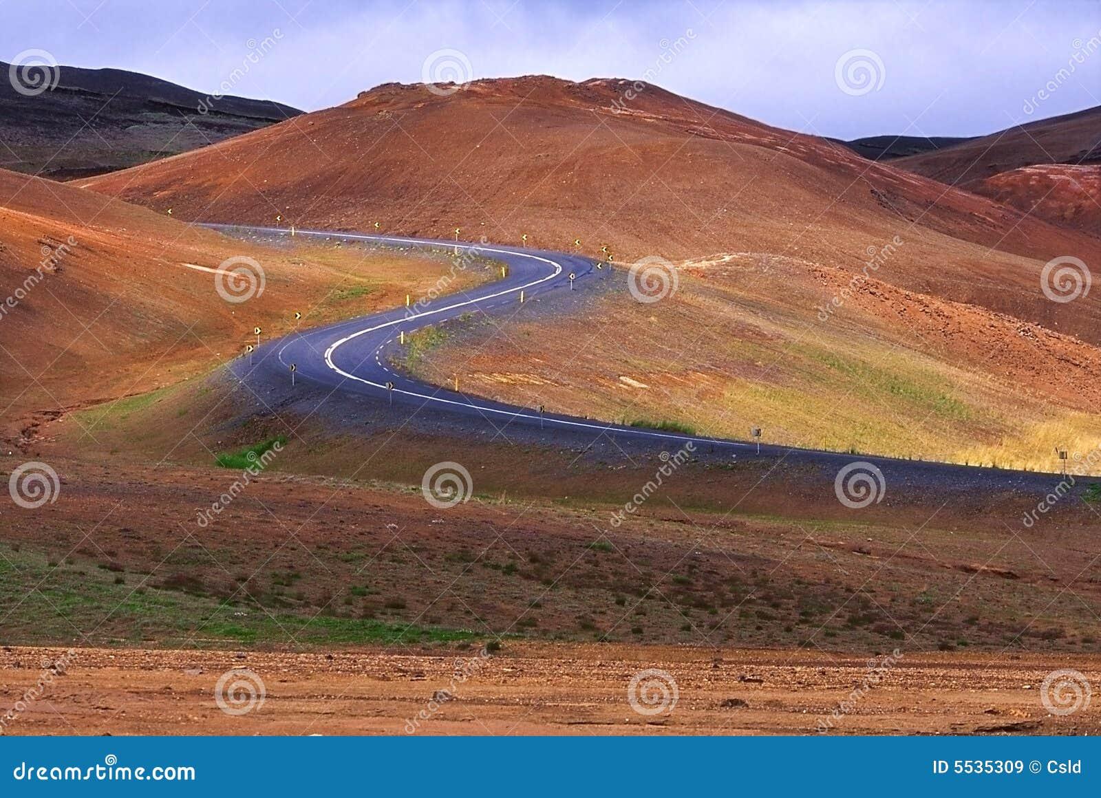 Estrada de Islândia