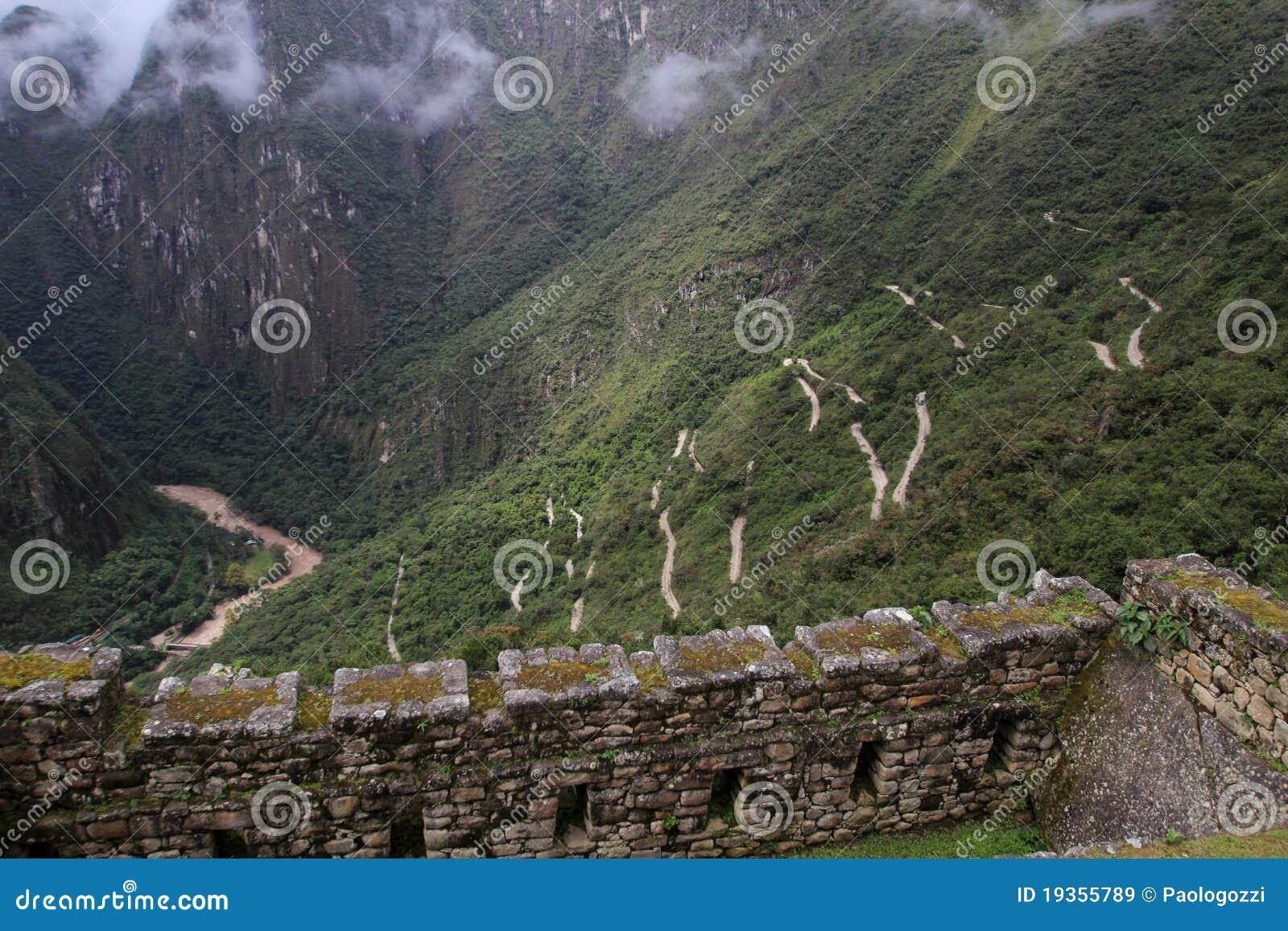 Estrada de Machu Picchu & vale de Urubamba