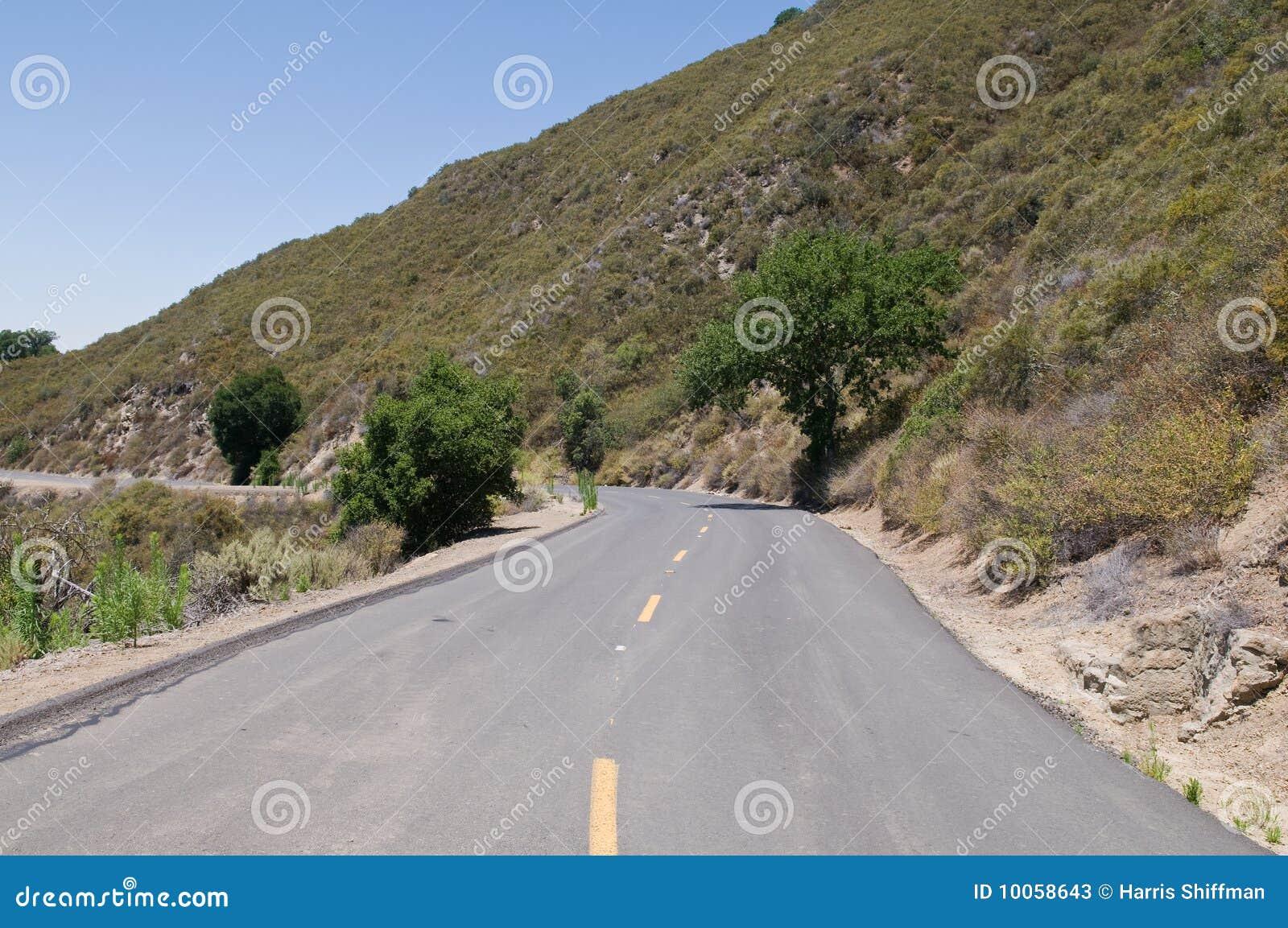 Estrada do Mt. Diablo