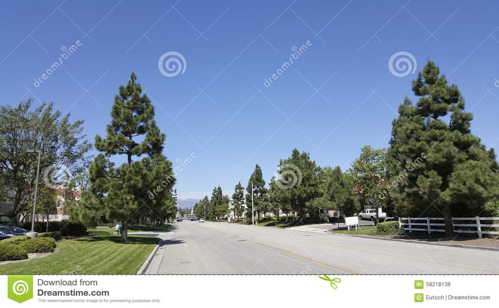 Estrada do rancho de Camarillo, CA