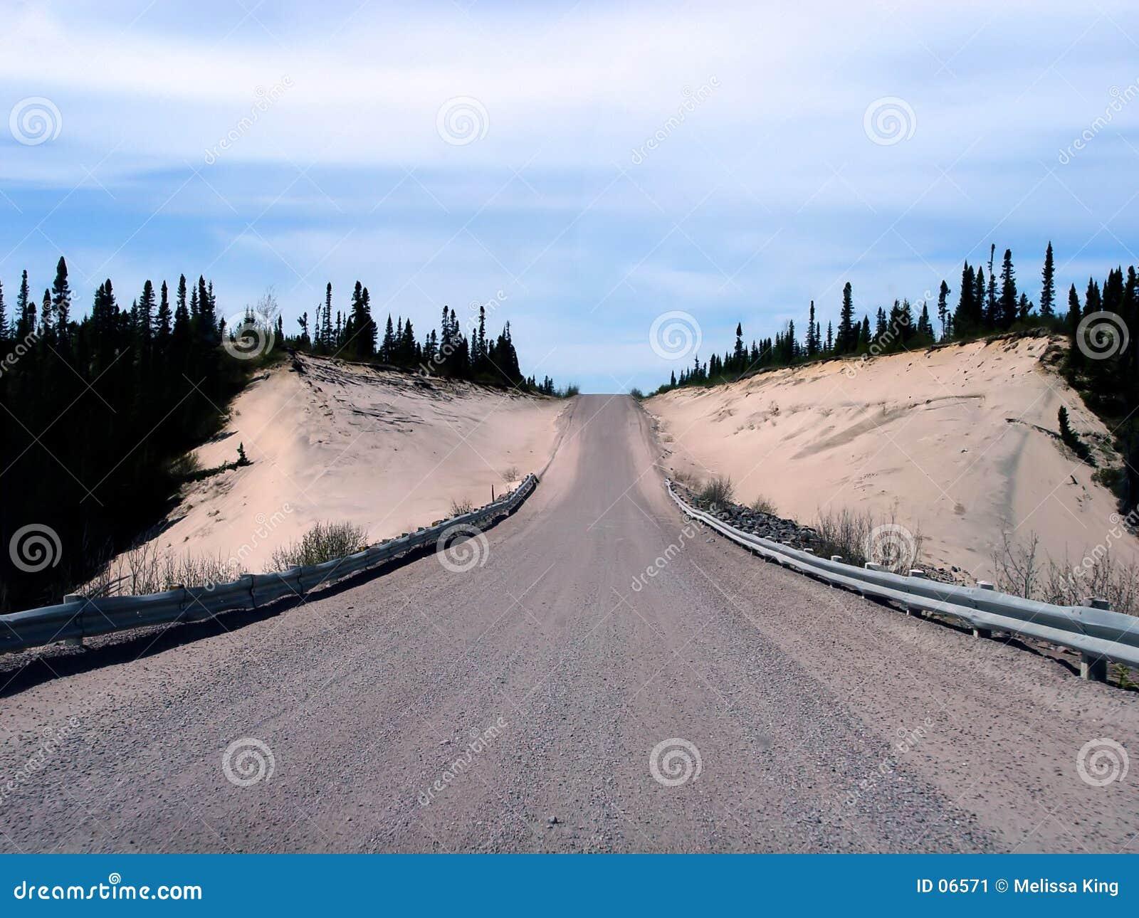 Estrada do transporte Labrador