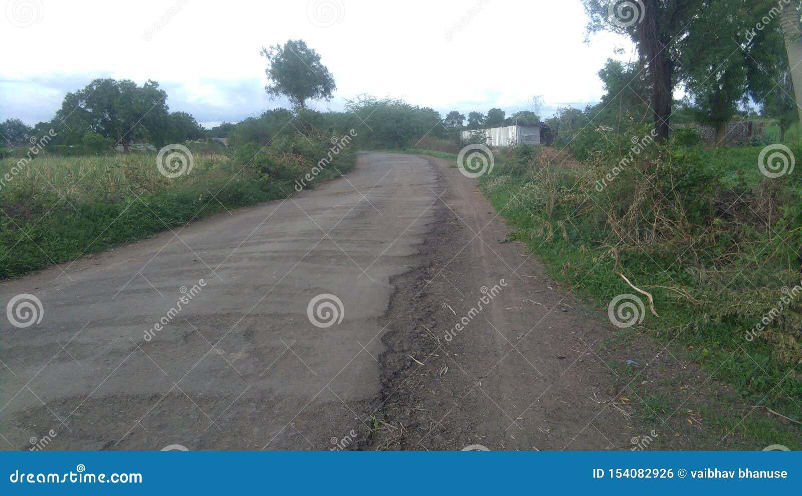 Estrada e agricultura da vila das Índias
