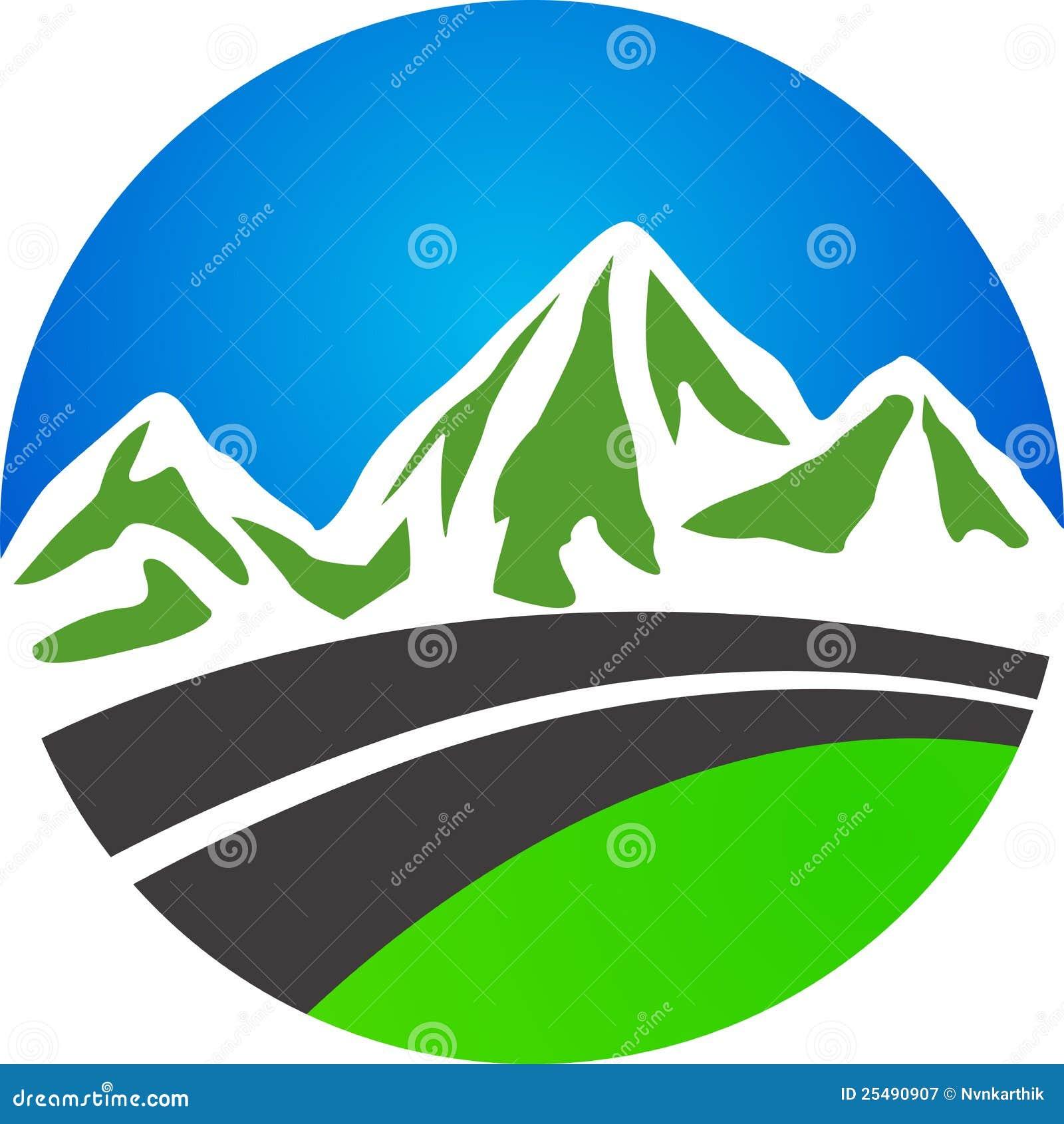 Estrada e montanha