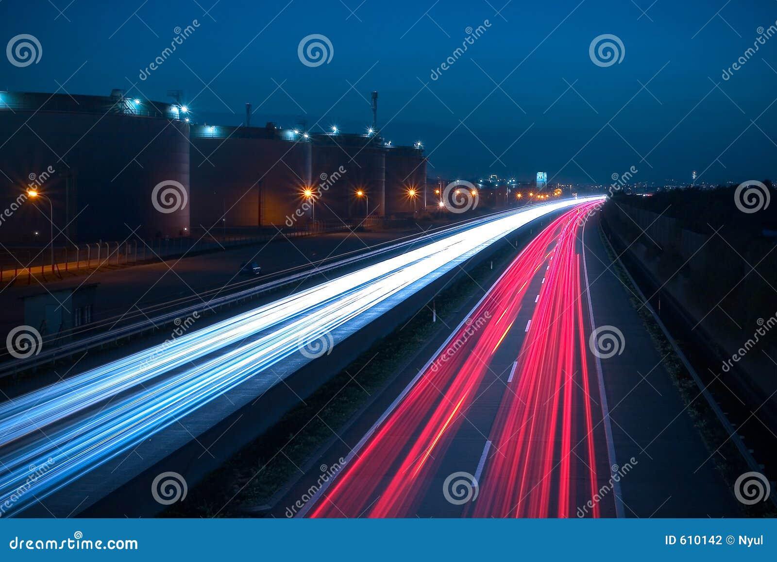 Estrada na noite