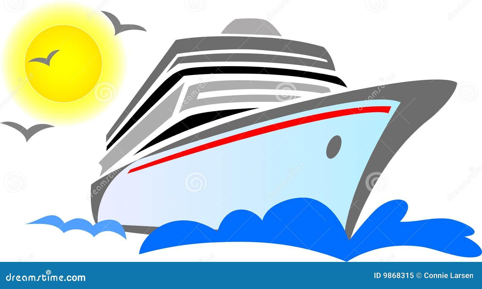Estratto della nave da crociera