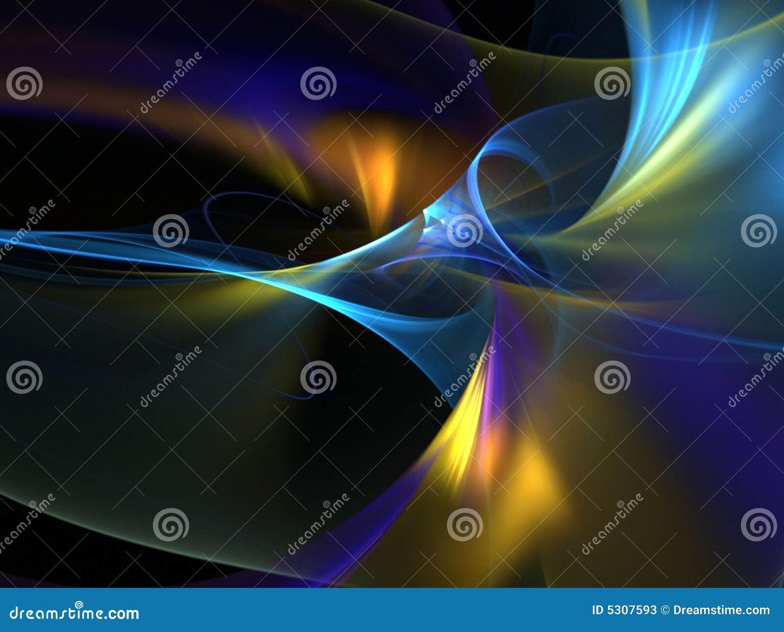 Download Estratto Scorrente Di Colori Illustrazione di Stock - Illustrazione di particolare, disegno: 5307593
