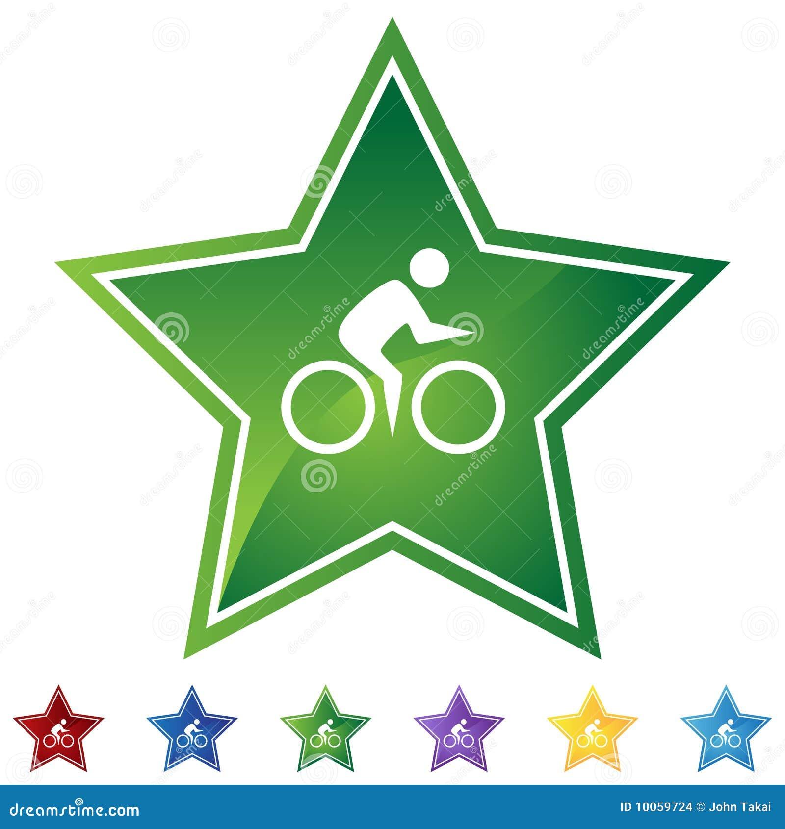 Estrela ajustada - bicicleta