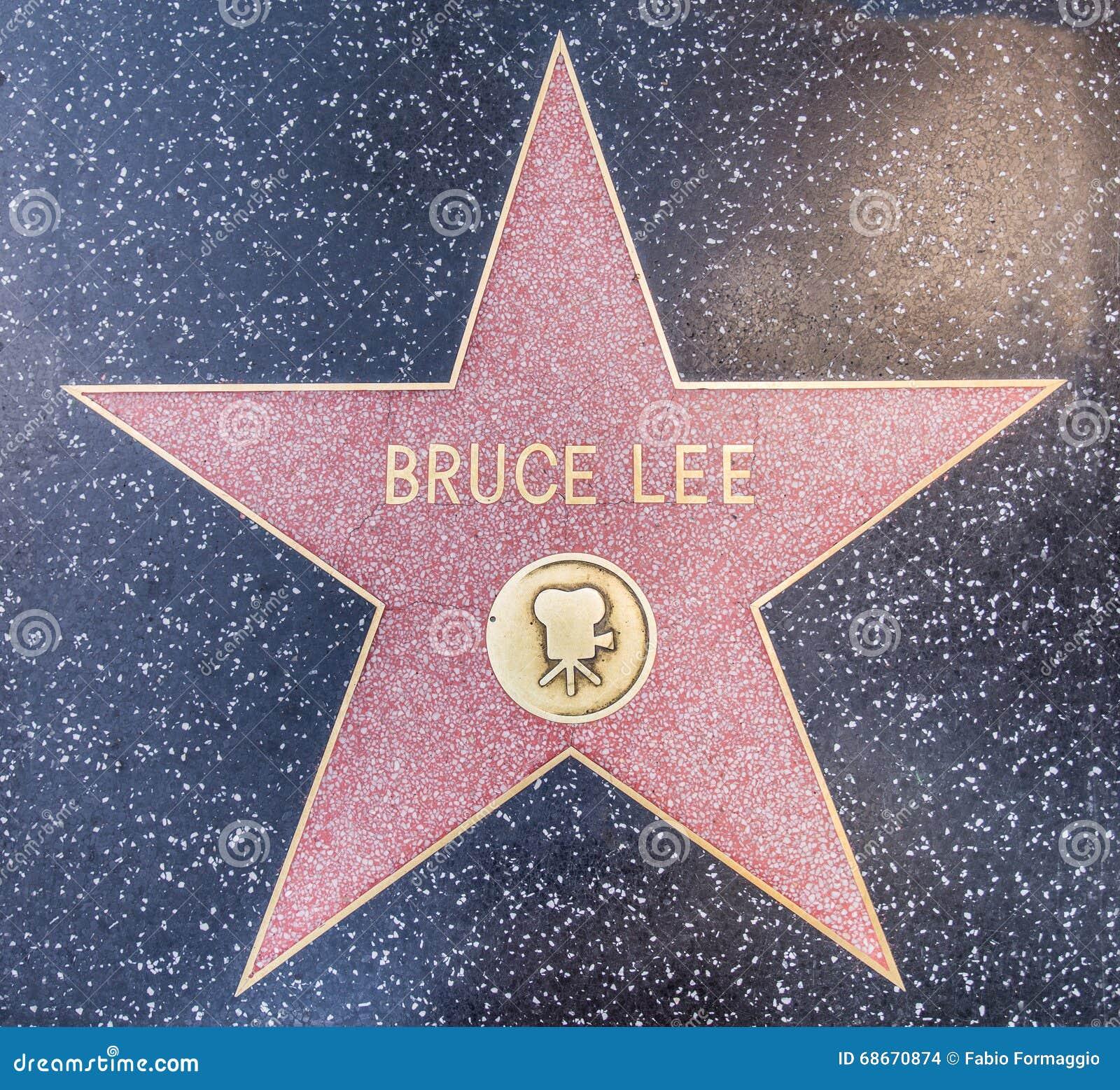 Estrela de Bruce Lee