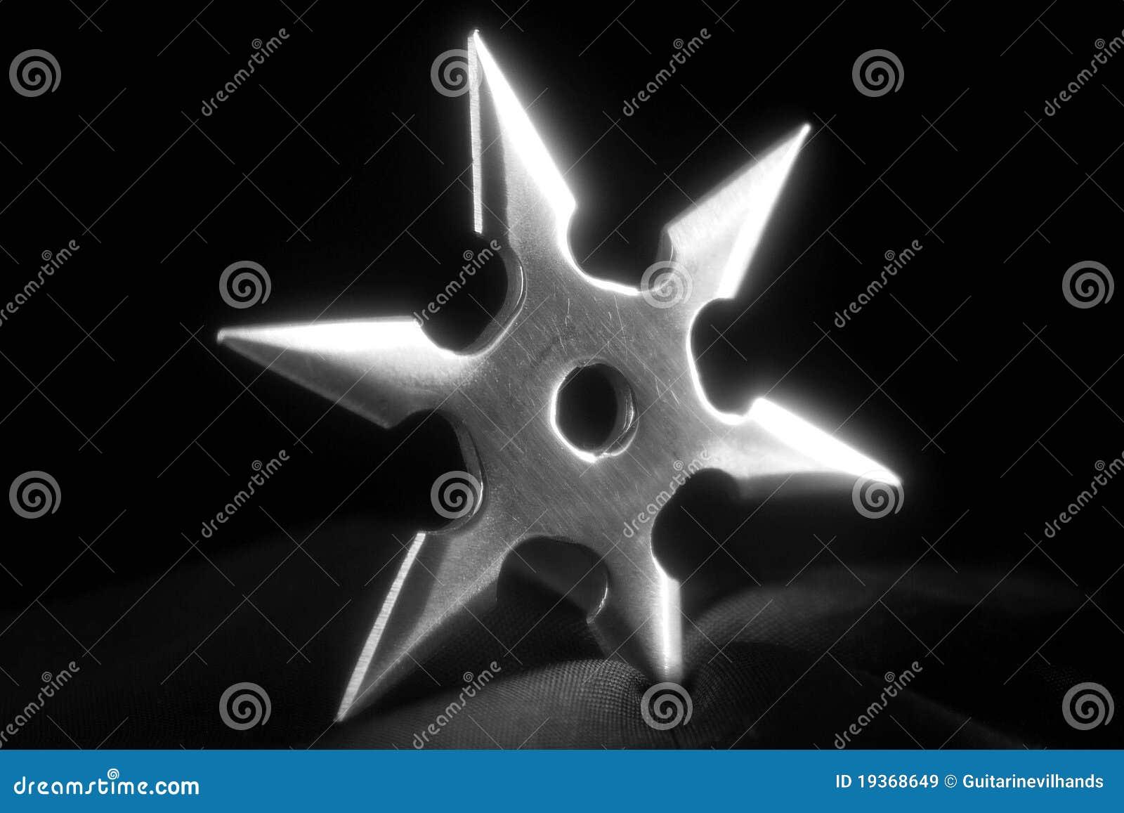 Estrela de Shuriken Ninja
