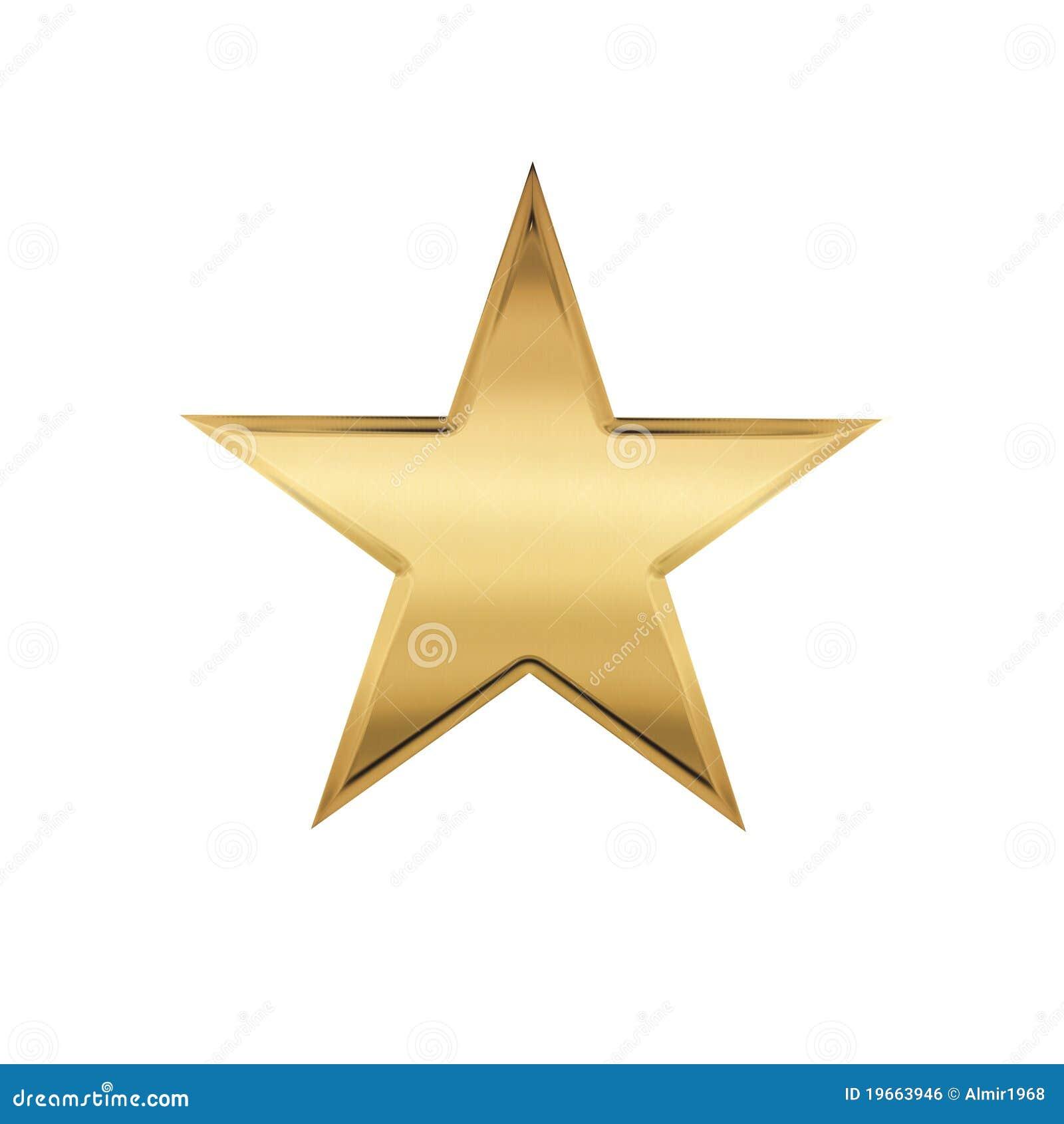 Aparador De Pelos Feminino Intimo ~ Estrela dourada ilustraç u00e3o stock Ilustraç u00e3o de reflex u00e3o 19663946