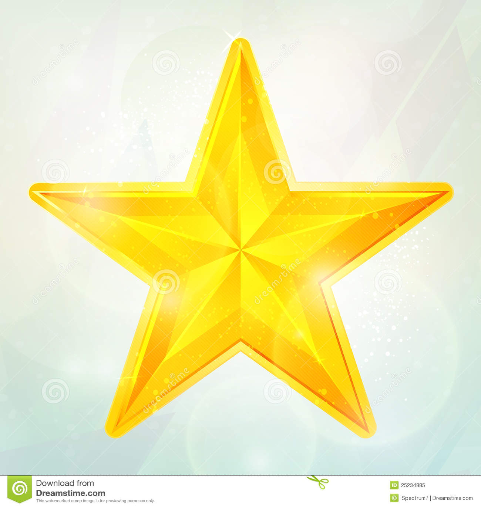 Aparador De Pelos Feminino Intimo ~ Estrela dourada ilustraç u00e3o do vetor Imagem de metal 25234885
