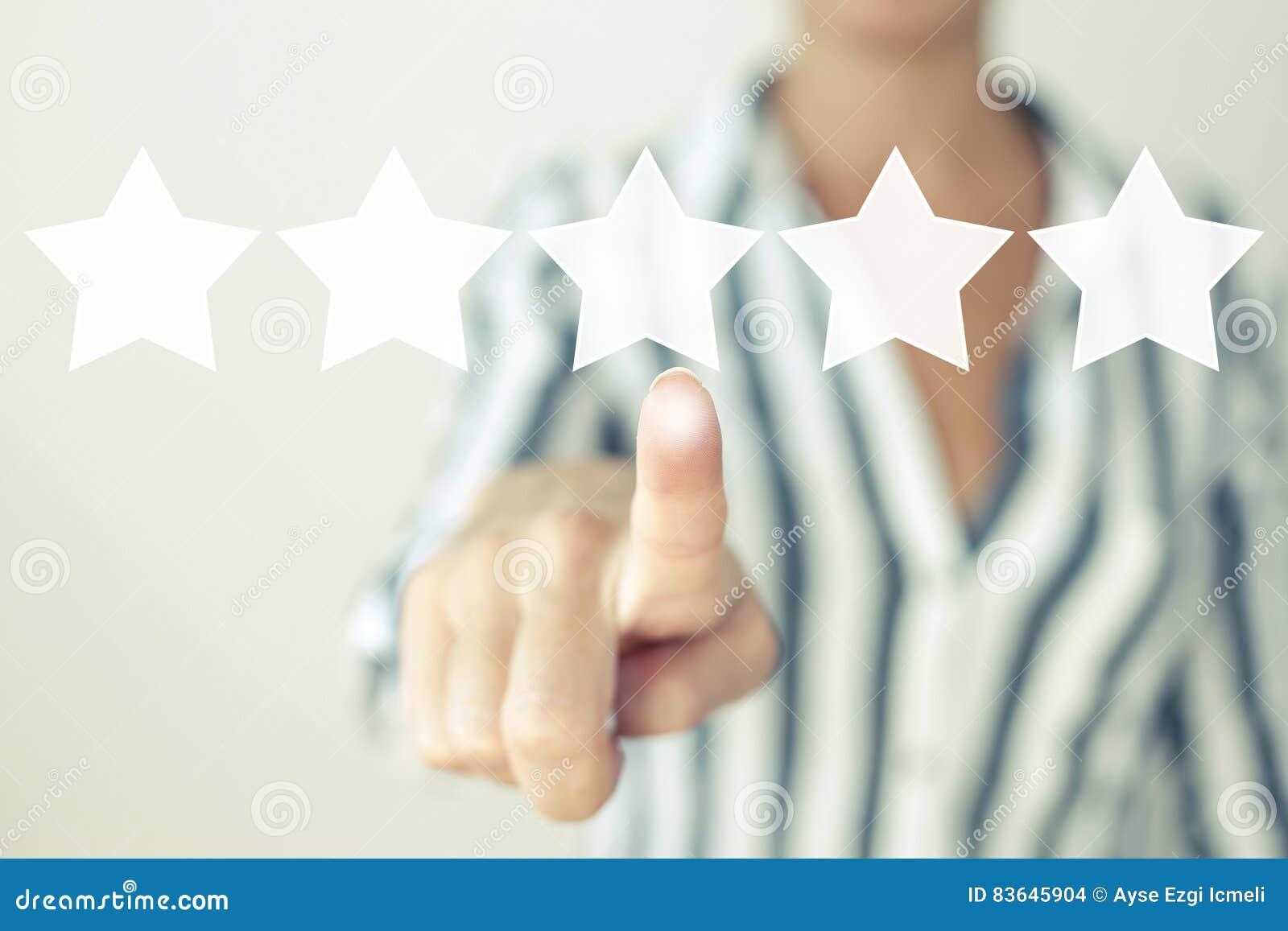 Estrelas da avaliação