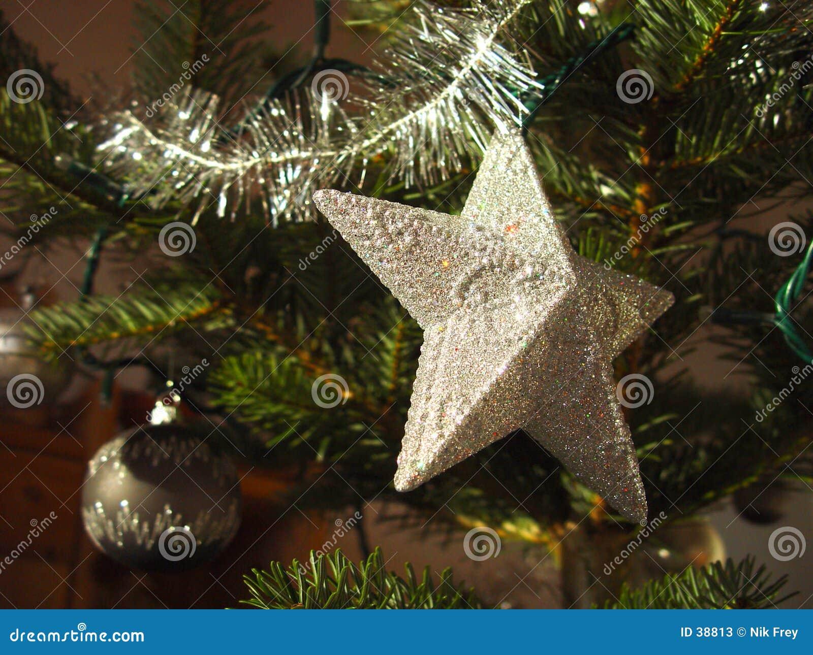 Download Estrella 2 de la Navidad imagen de archivo. Imagen de navidad - 38813