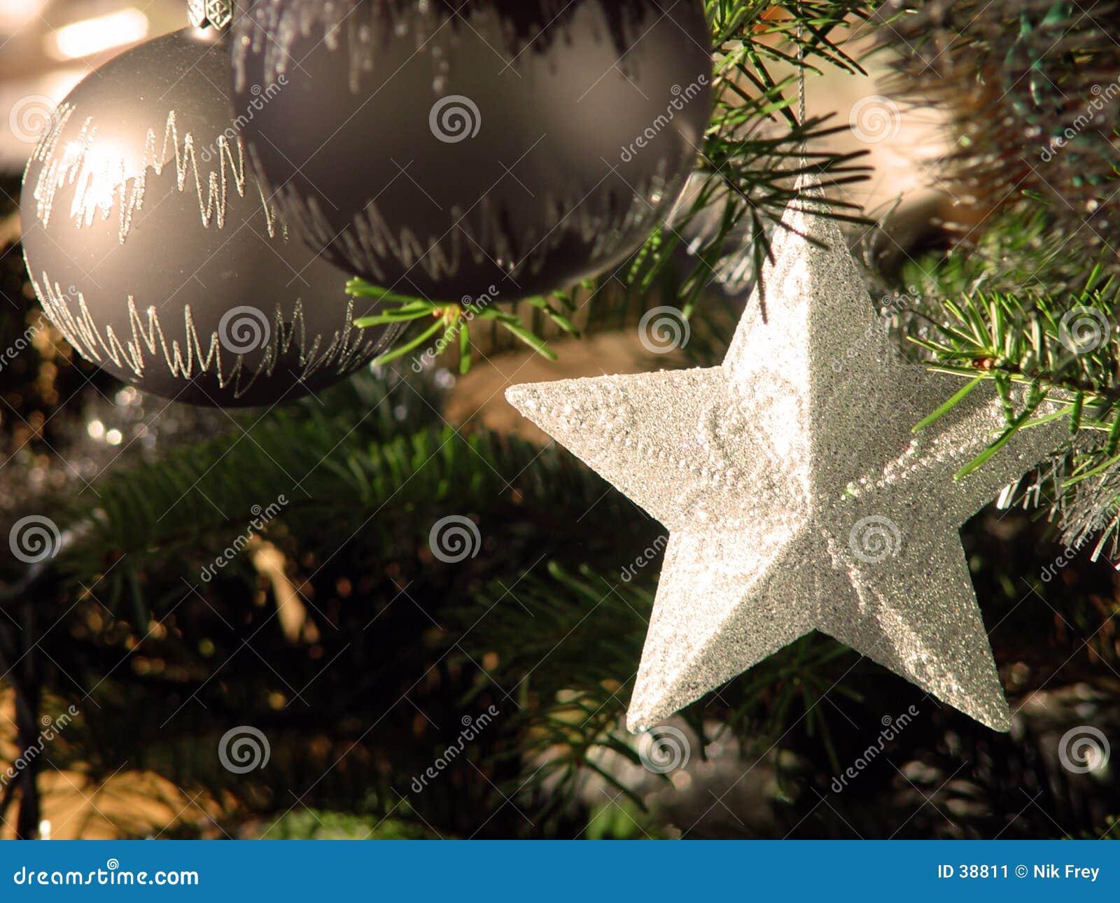 Download Estrella de la Navidad imagen de archivo. Imagen de invierno - 38811