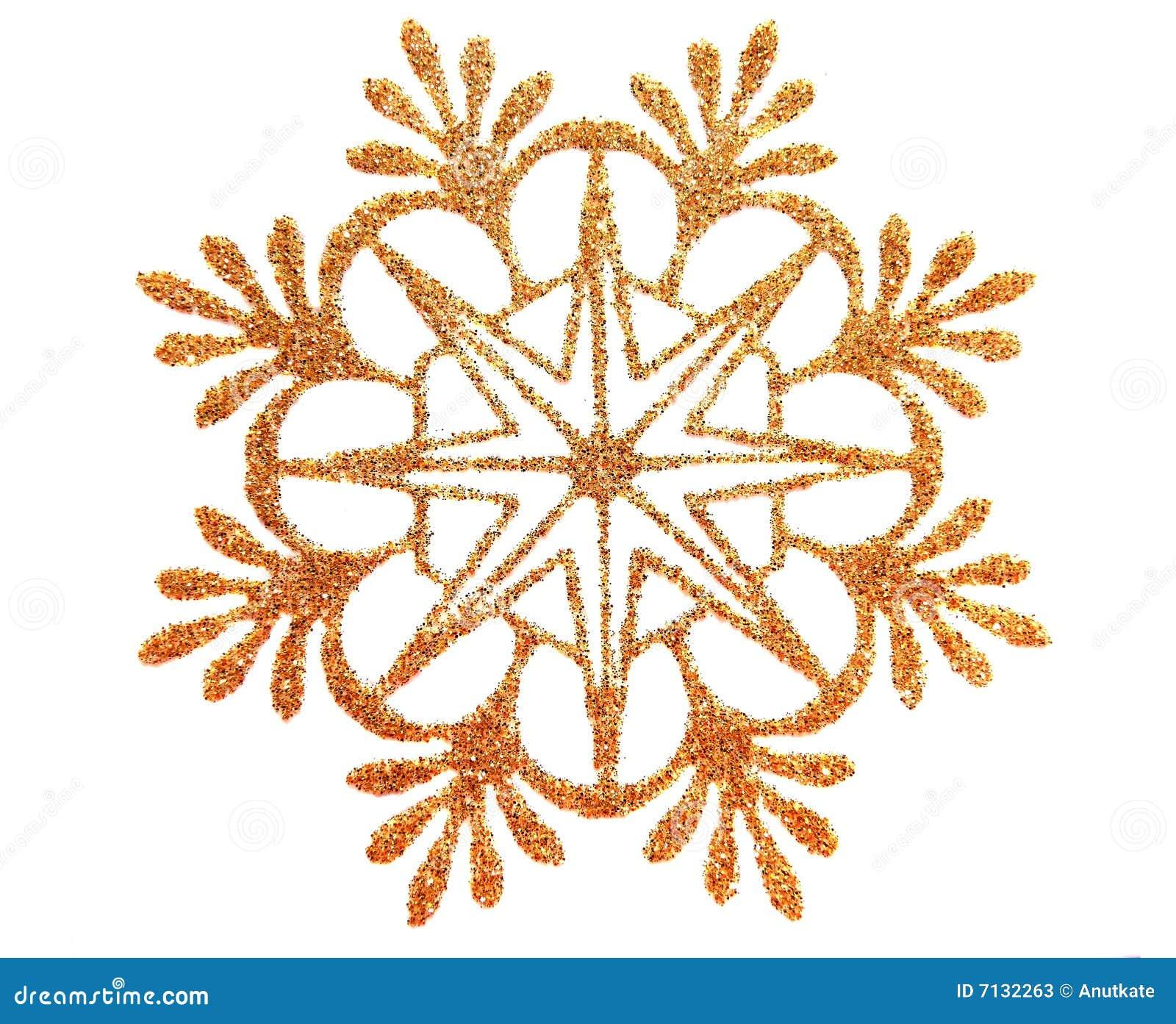 Estrella de la nieve del oro fotos de archivo imagen for Estrella de nieve