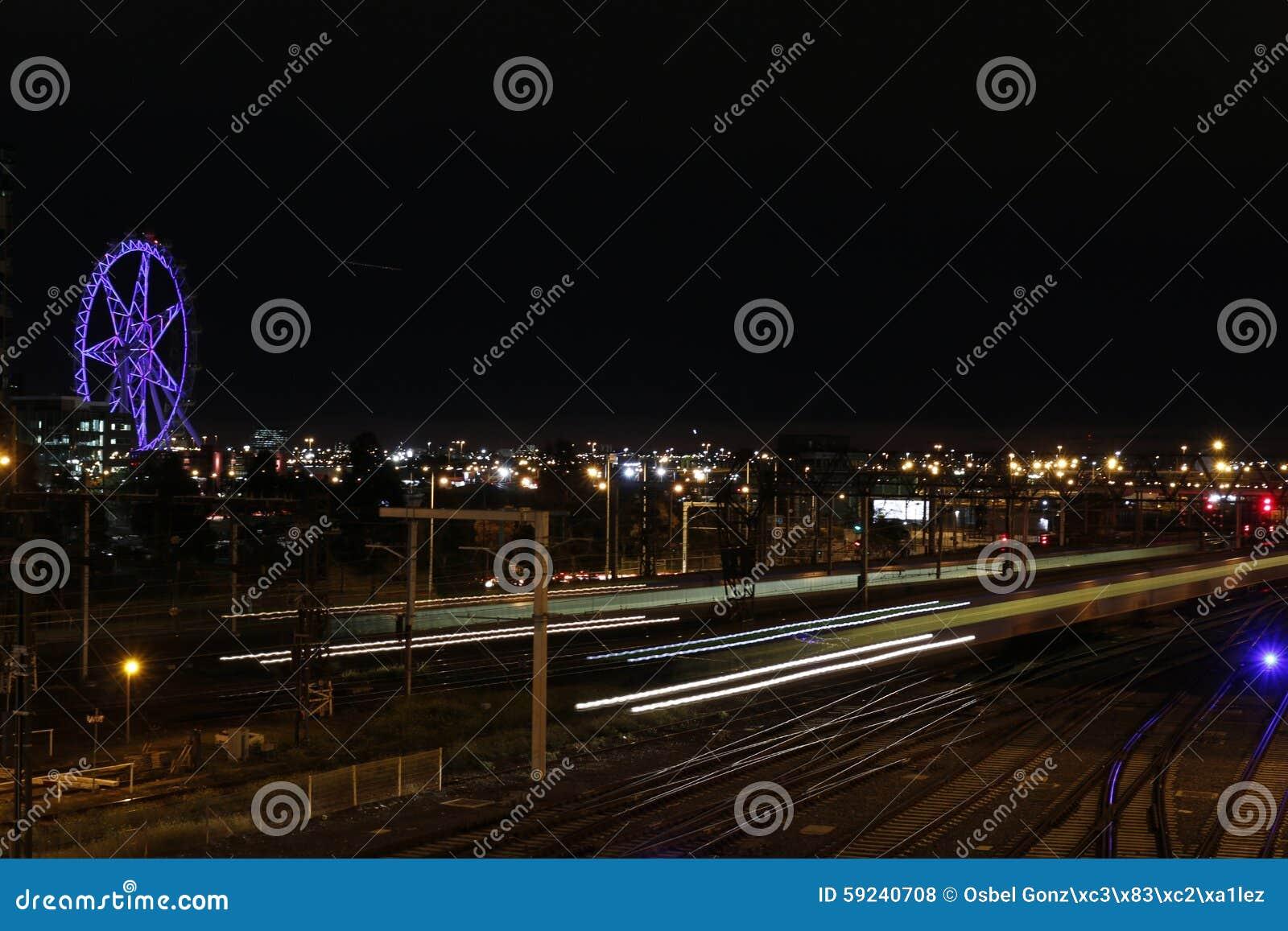 Download Estrella grande Melbourne foto de archivo. Imagen de estrella - 59240708