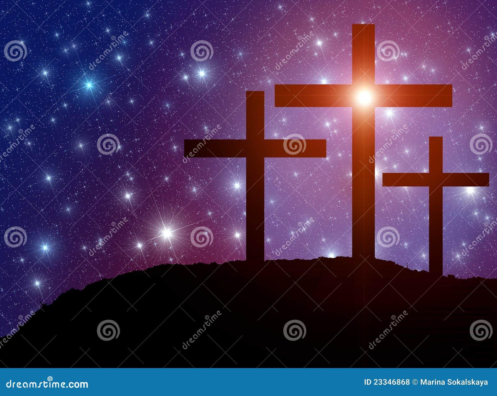 Estrellas cruzadas de Pascua
