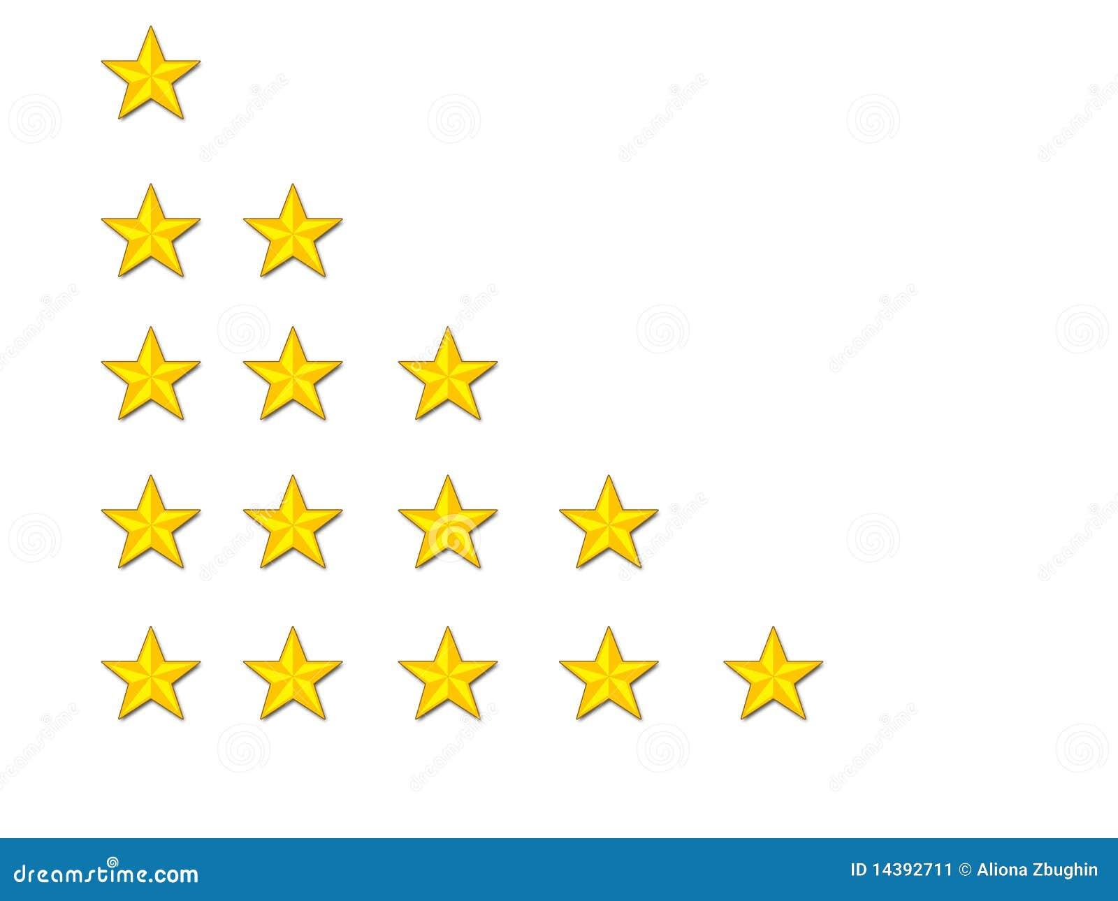 Estrellas del grado